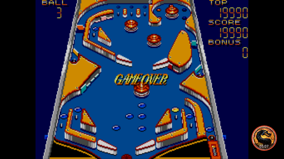 Casino Games: Pinball [Gentle] 19,990 points
