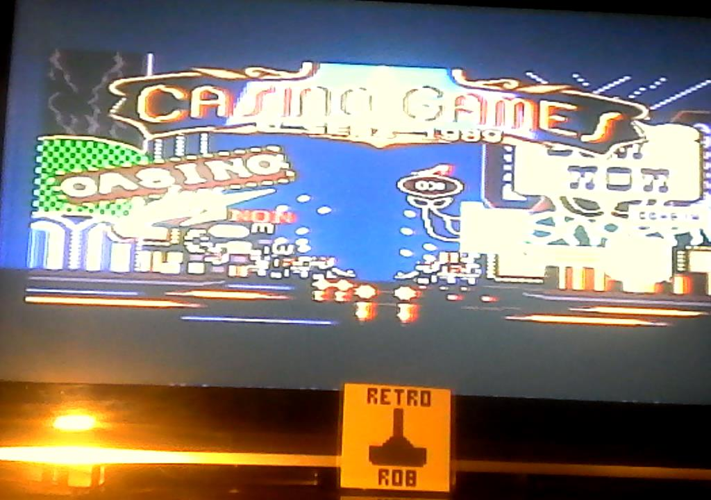 RetroRob: Casino Games: Pinball [Gentle] (Sega Master System) 12,300 points on 2019-09-24 13:28:15
