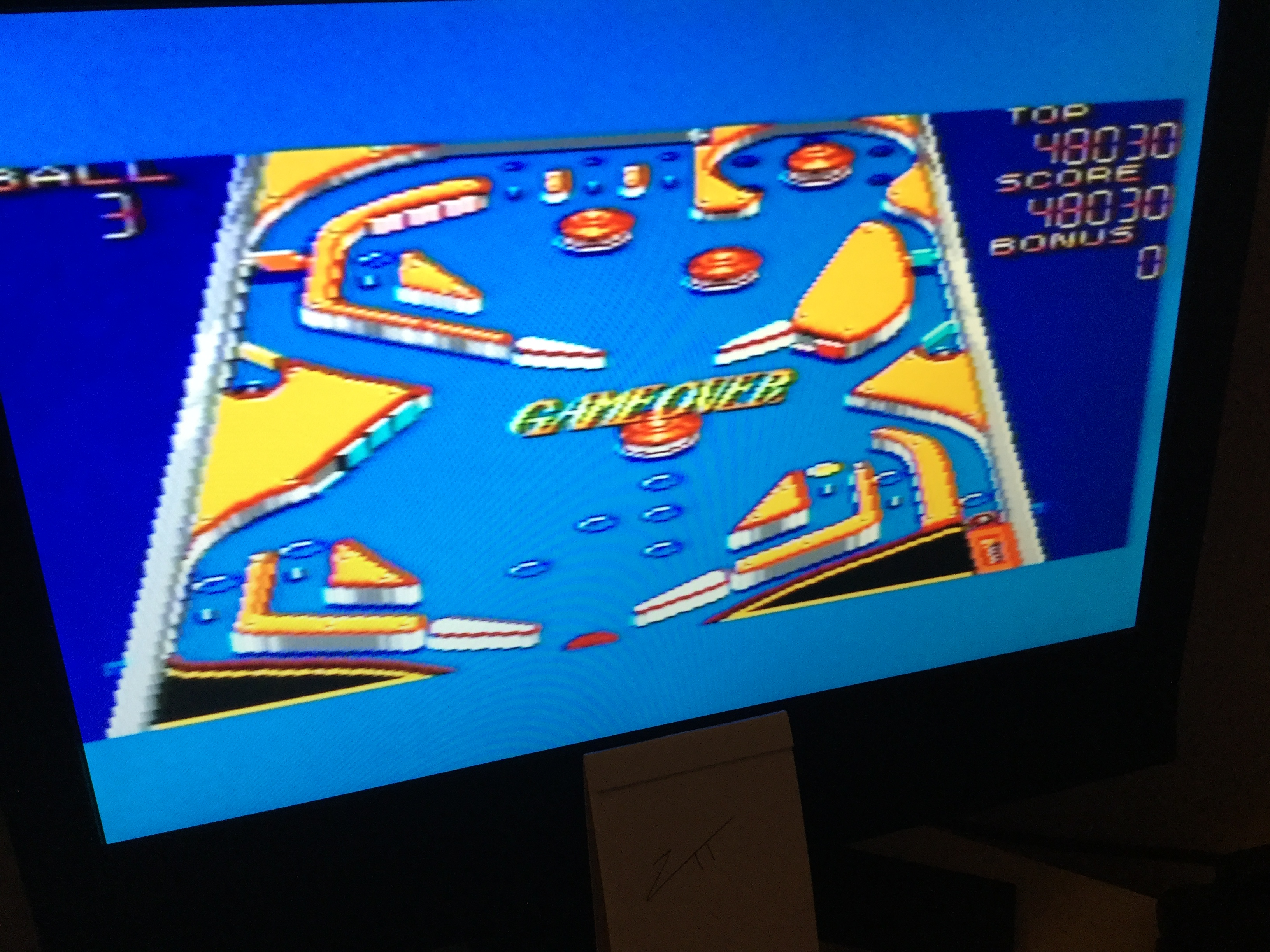 Frankie: Casino Games: Pinball [Middle] (Sega Master System) 48,030 points on 2020-11-27 06:16:41