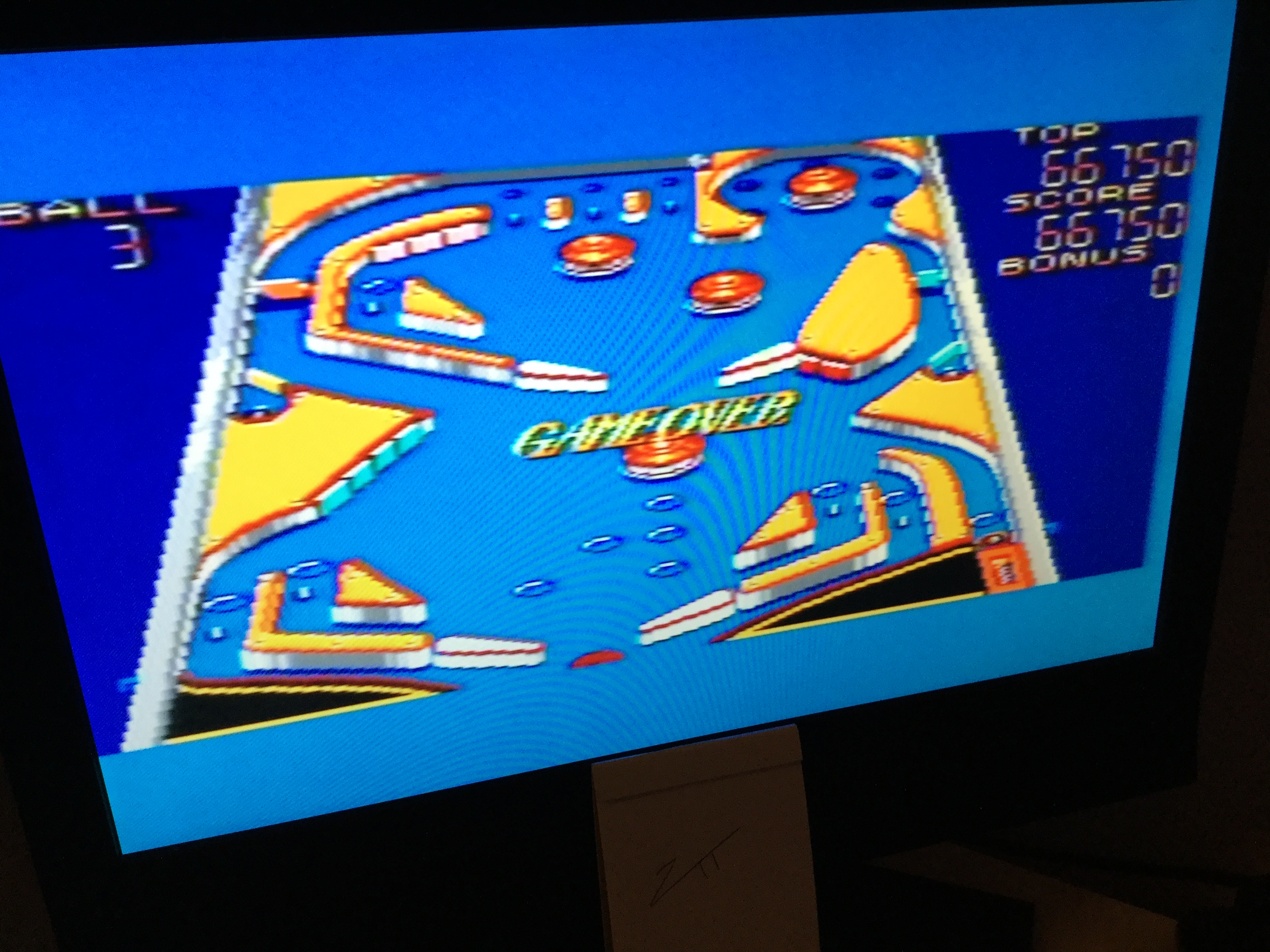 Frankie: Casino Games: Pinball [Steep] (Sega Master System) 66,750 points on 2020-11-27 06:42:01