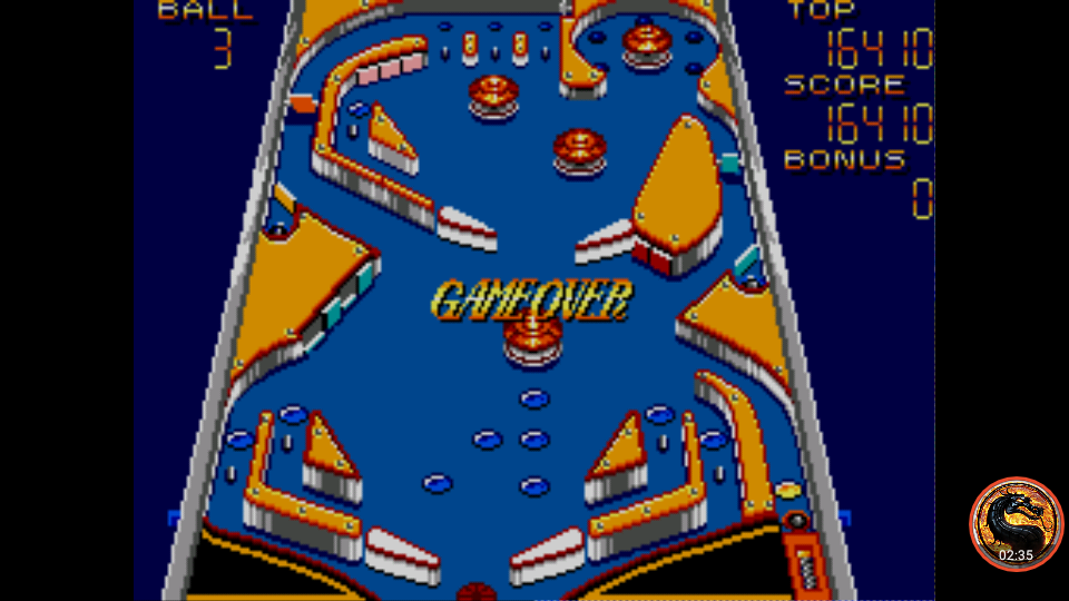 omargeddon: Casino Games: Pinball [Steep] (Sega Master System Emulated) 16,410 points on 2019-02-09 11:28:19