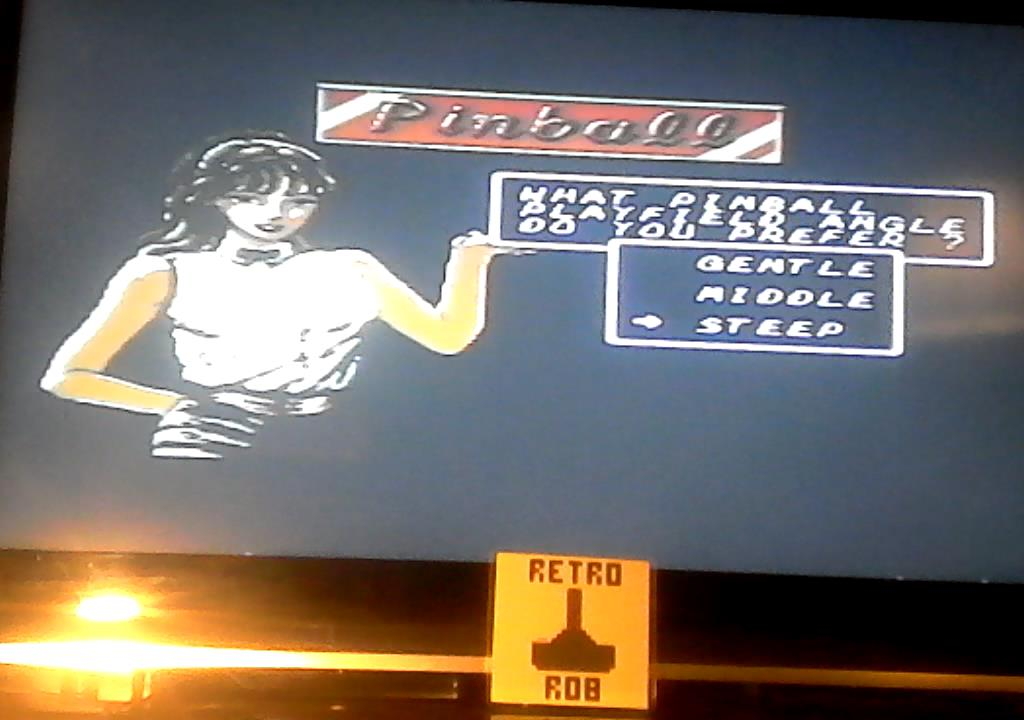 RetroRob: Casino Games: Pinball [Steep] (Sega Master System) 9,810 points on 2019-09-24 13:42:14