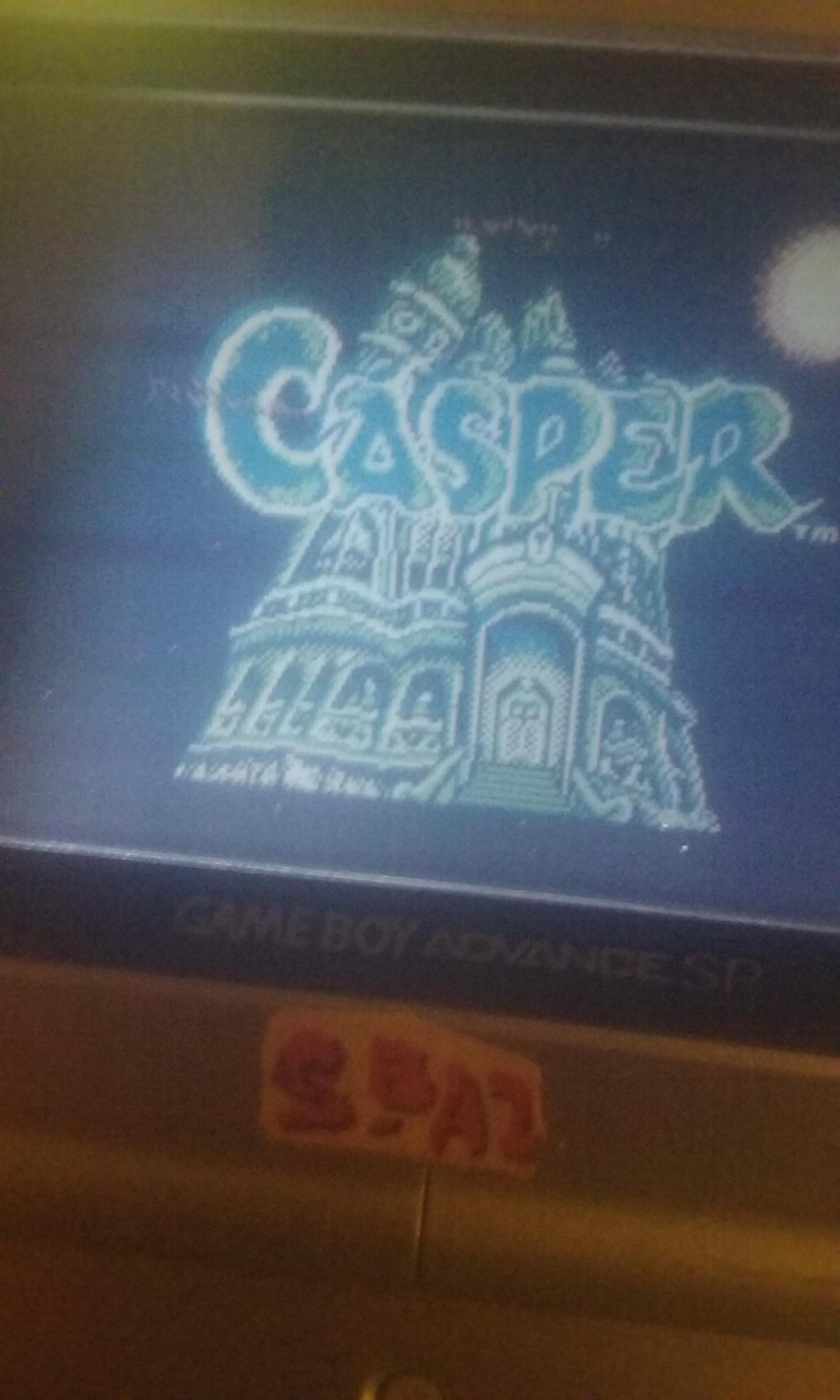 S.BAZ: Casper (Game Boy) 2,030 points on 2019-07-21 20:18:28