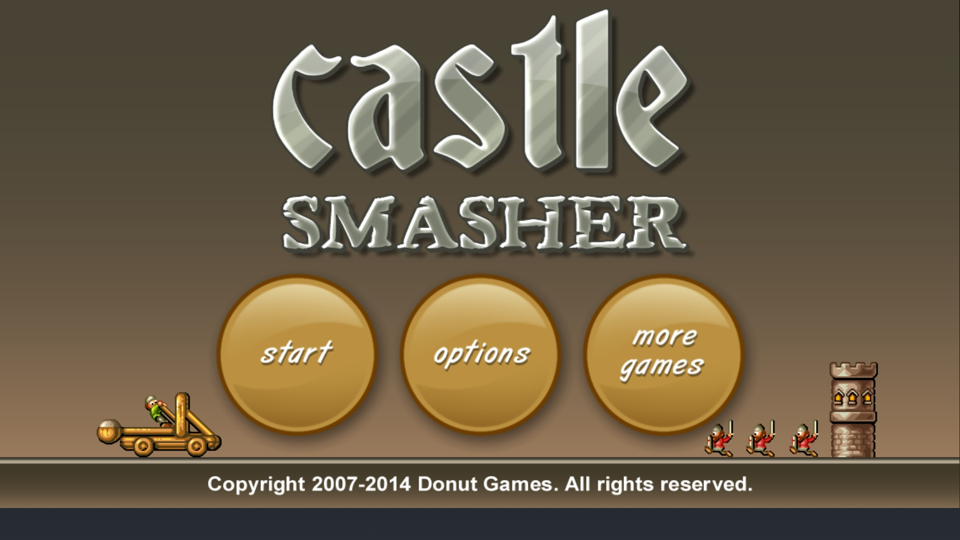Castle Smasher: Challenges: 20 Town Assault 90 points