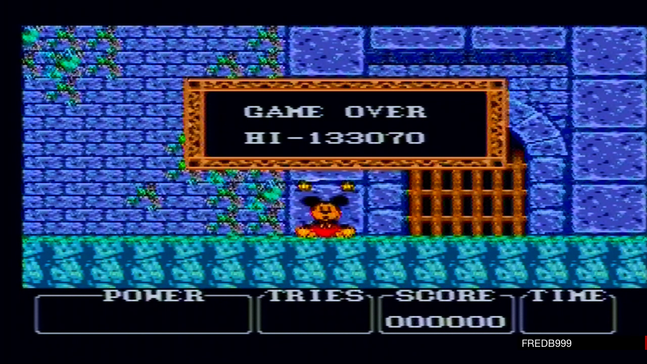 fredb999: Castle of Illusion Starring Mickey Mouse (Sega Master System) 133,070 points on 2020-05-04 19:24:59