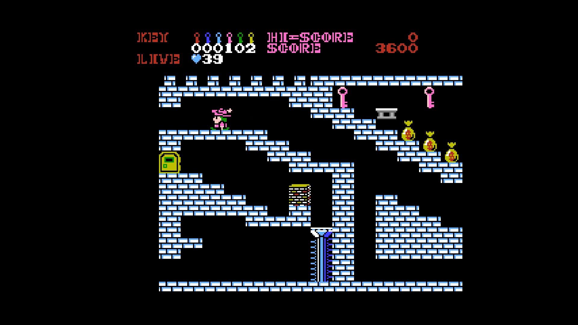 AkinNahtanoj: Castlequest / Castle Excellent (NES/Famicom Emulated) 3,600 points on 2020-10-23 05:55:13