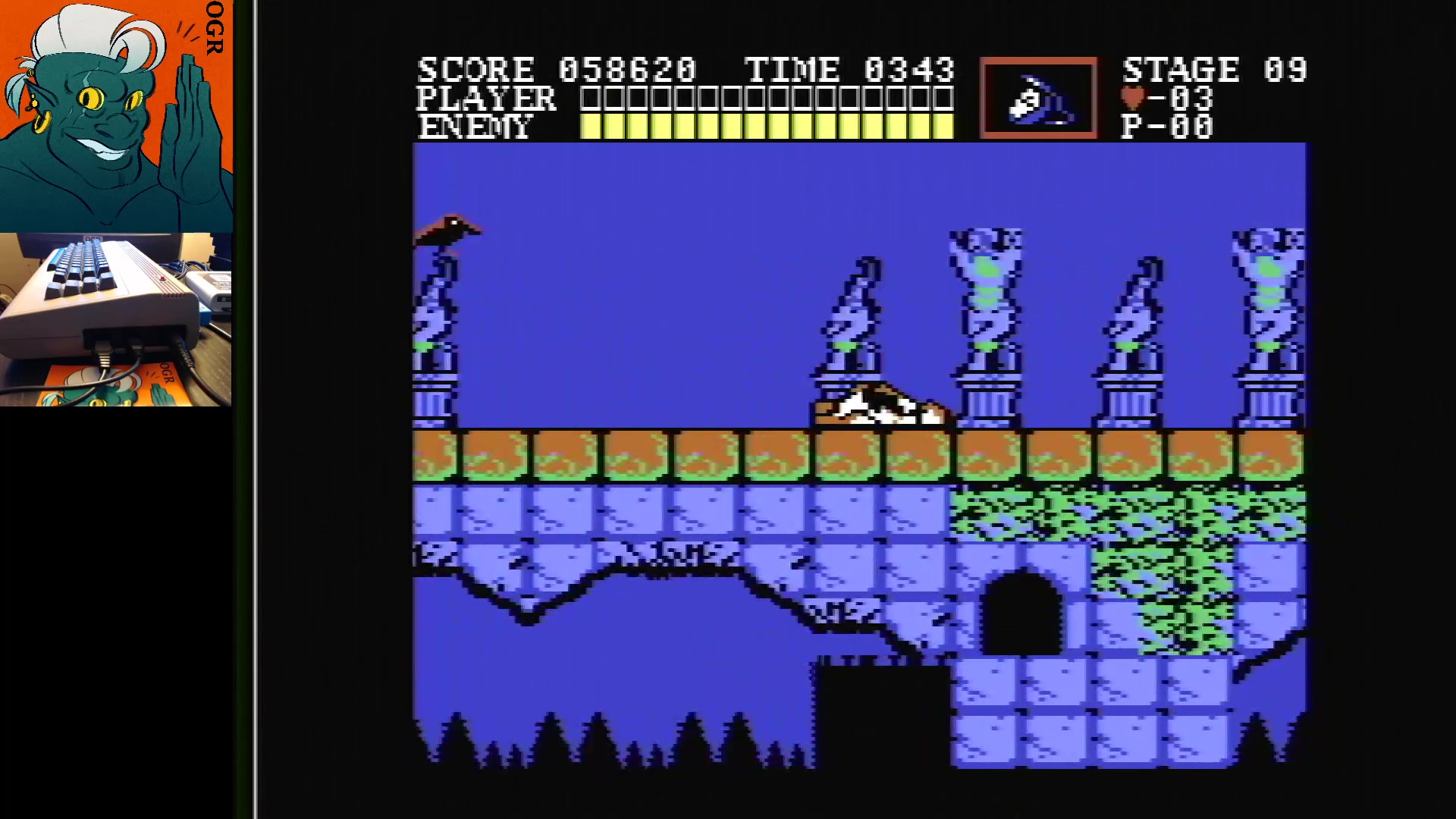 AwesomeOgre: Castlevania (Commodore 64) 58,620 points on 2020-01-14 12:05:23