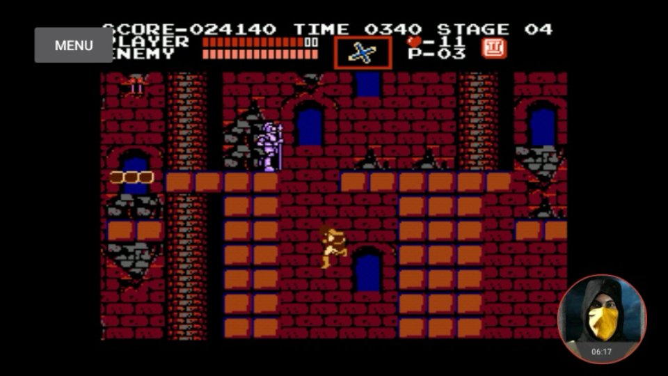 omargeddon: Castlevania [First Playthrough 1-life] (NES/Famicom Emulated) 24,140 points on 2018-02-18 13:51:28