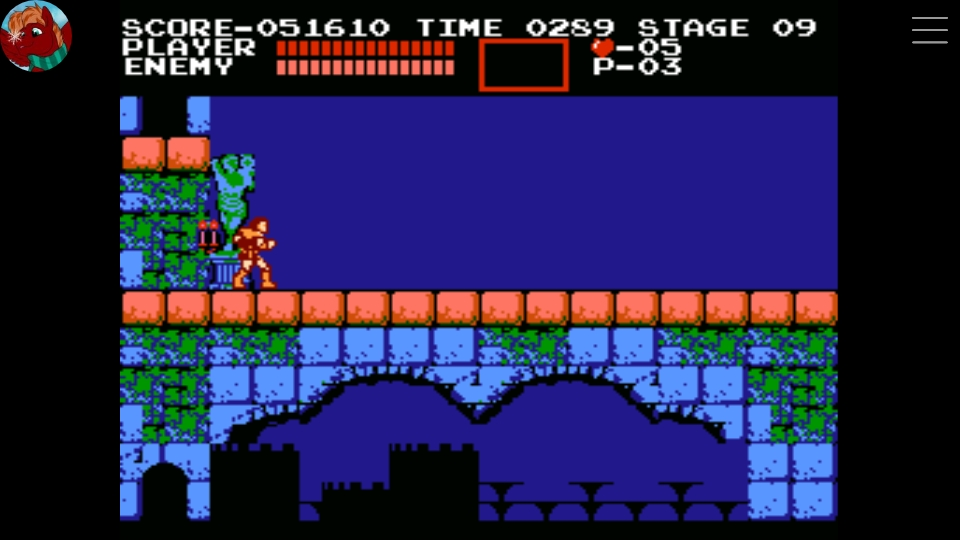 Scorechaserpony: Castlevania [First Playthrough 1-life] (NES/Famicom Emulated) 51,610 points on 2019-11-03 17:43:53