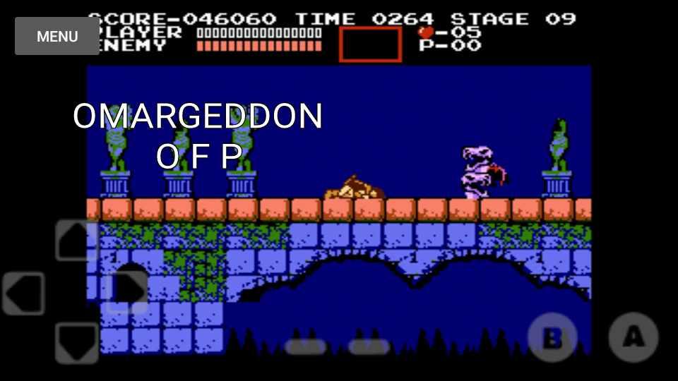 omargeddon: Castlevania (NES/Famicom Emulated) 46,060 points on 2016-11-17 23:30:22
