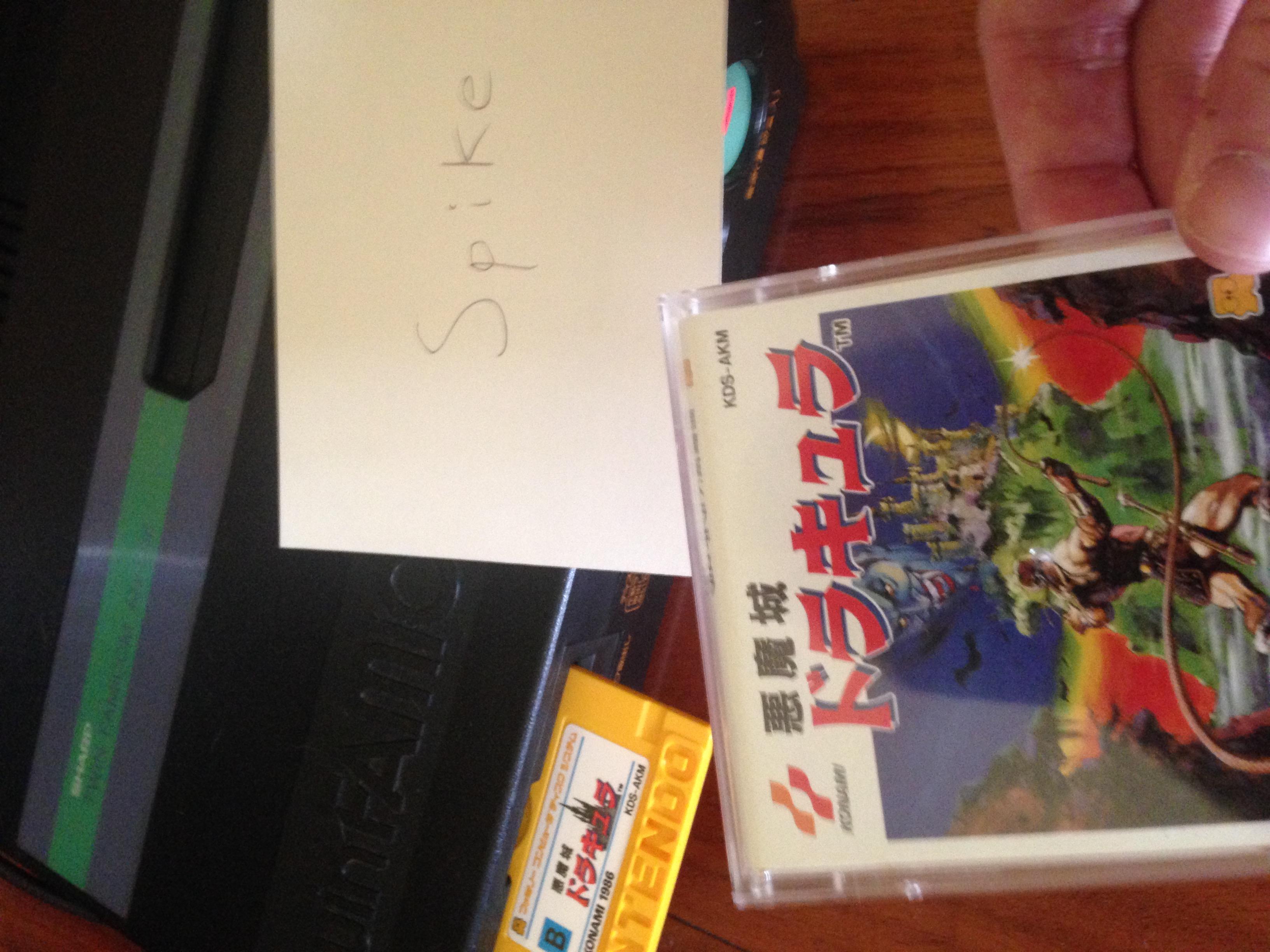 Spike: Castlevania (NES/Famicom) 356,165 points on 2020-03-01 17:09:37
