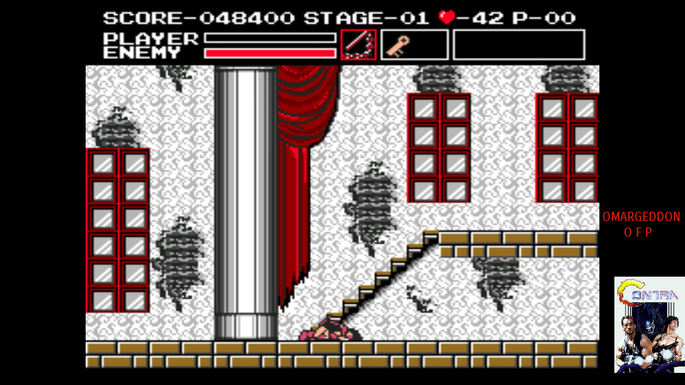 omargeddon: Castlevania: Vampire Killer (MSX Emulated) 48,400 points on 2017-07-29 01:18:41