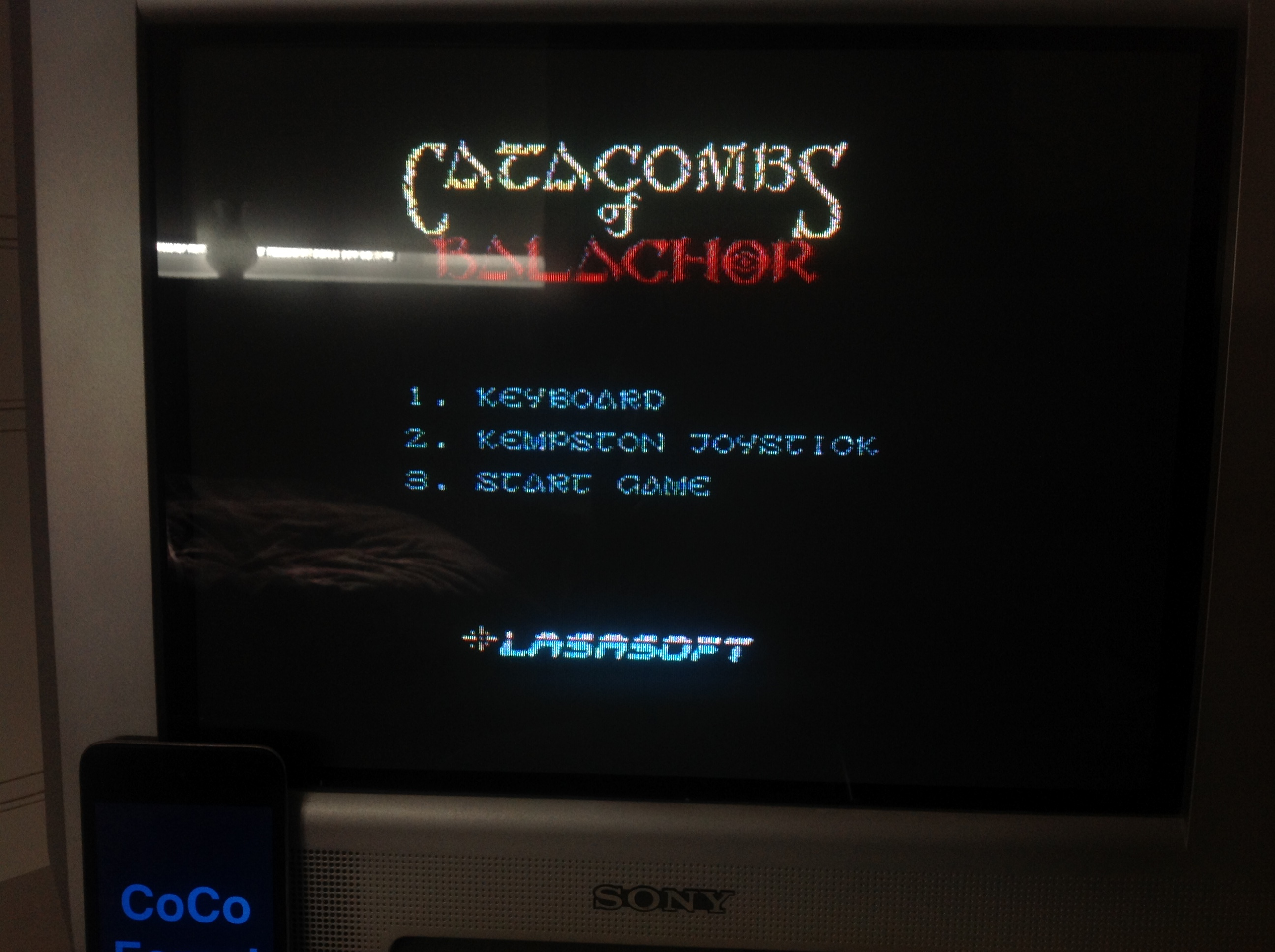 CoCoForest: Catacombs Of Balachor (ZX Spectrum) 1,465 points on 2016-01-19 07:35:57