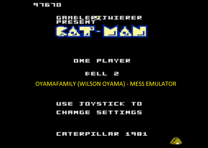 oyamafamily: Caterpiller / Cat-Man: Bell 2 Start (Atari 7800 Emulated) 97,670 points on 2016-04-11 20:24:28