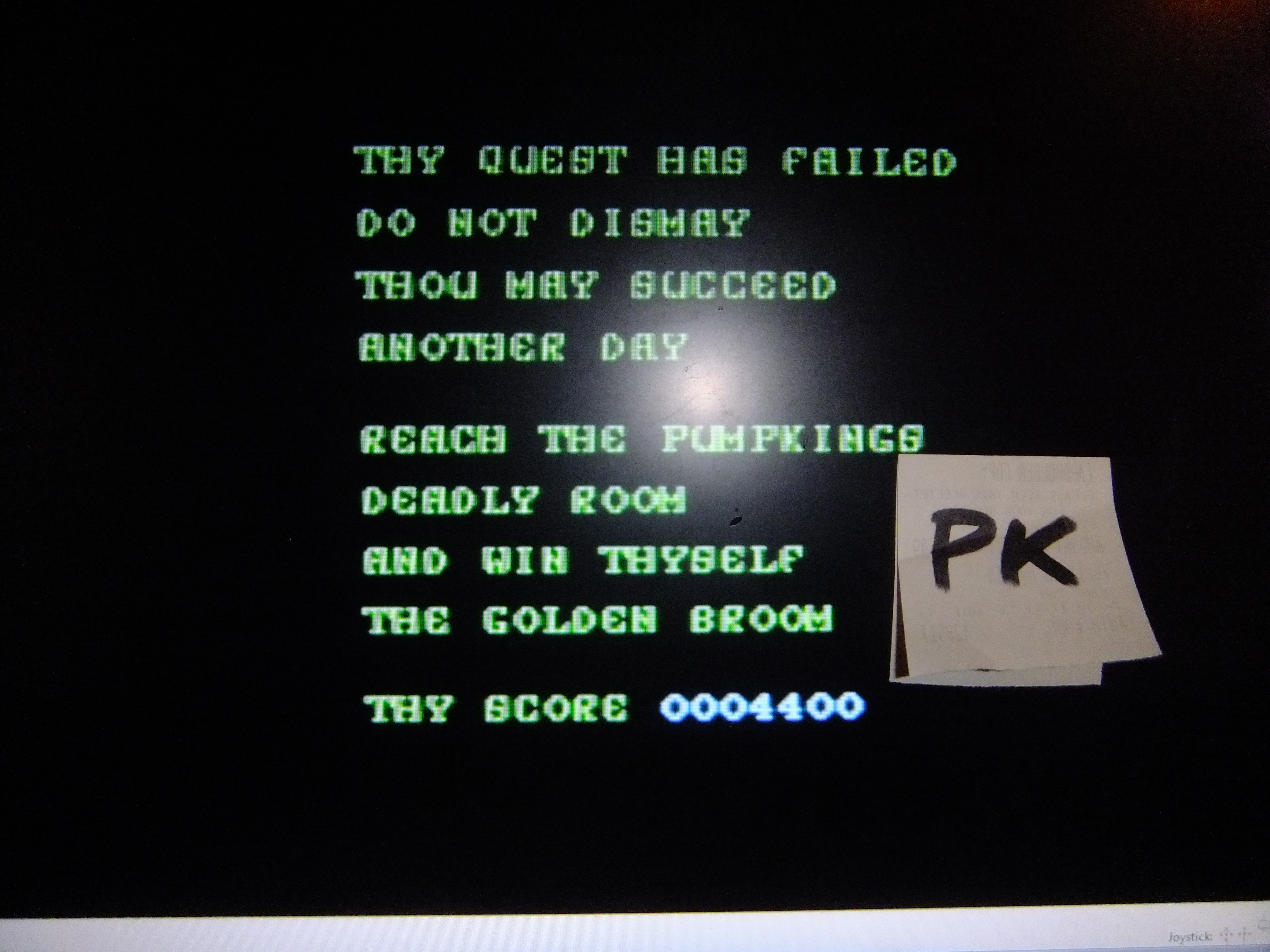 kernzy: Cauldron (Commodore 64) 4,400 points on 2015-11-25 15:09:41