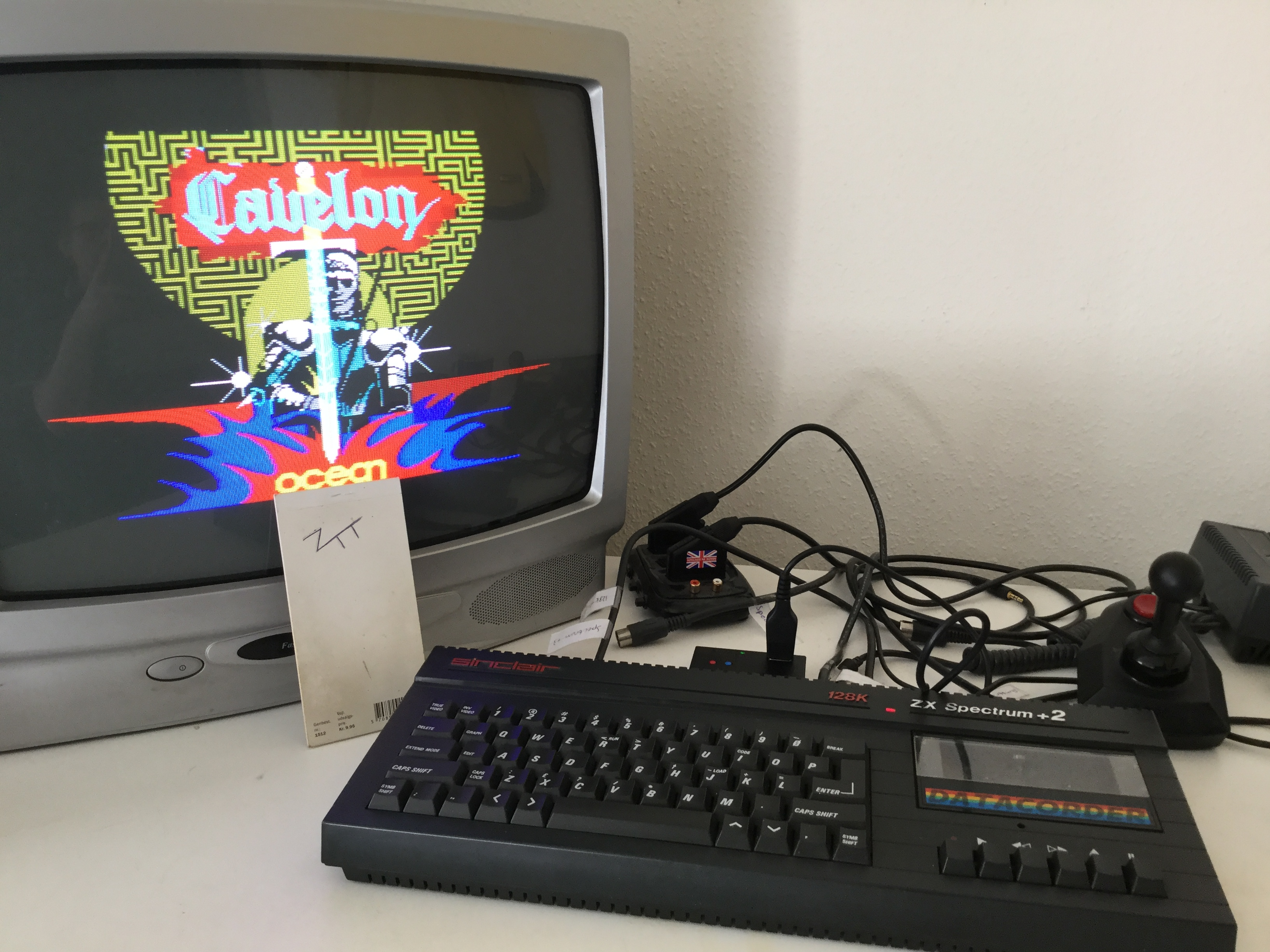 Frankie: Cavelon (ZX Spectrum) 36,100 points on 2019-04-18 02:39:13
