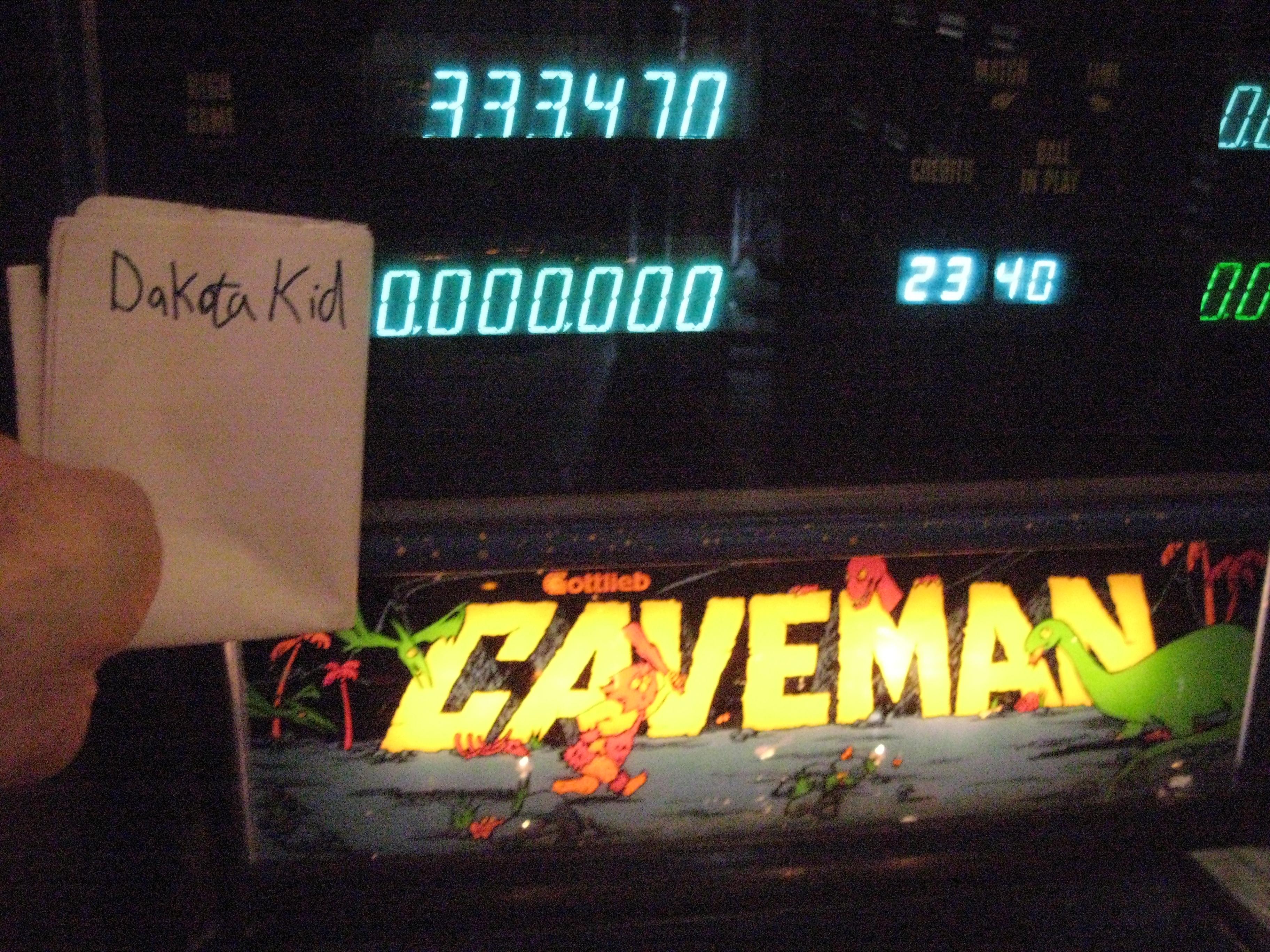 Caveman 333,470 points