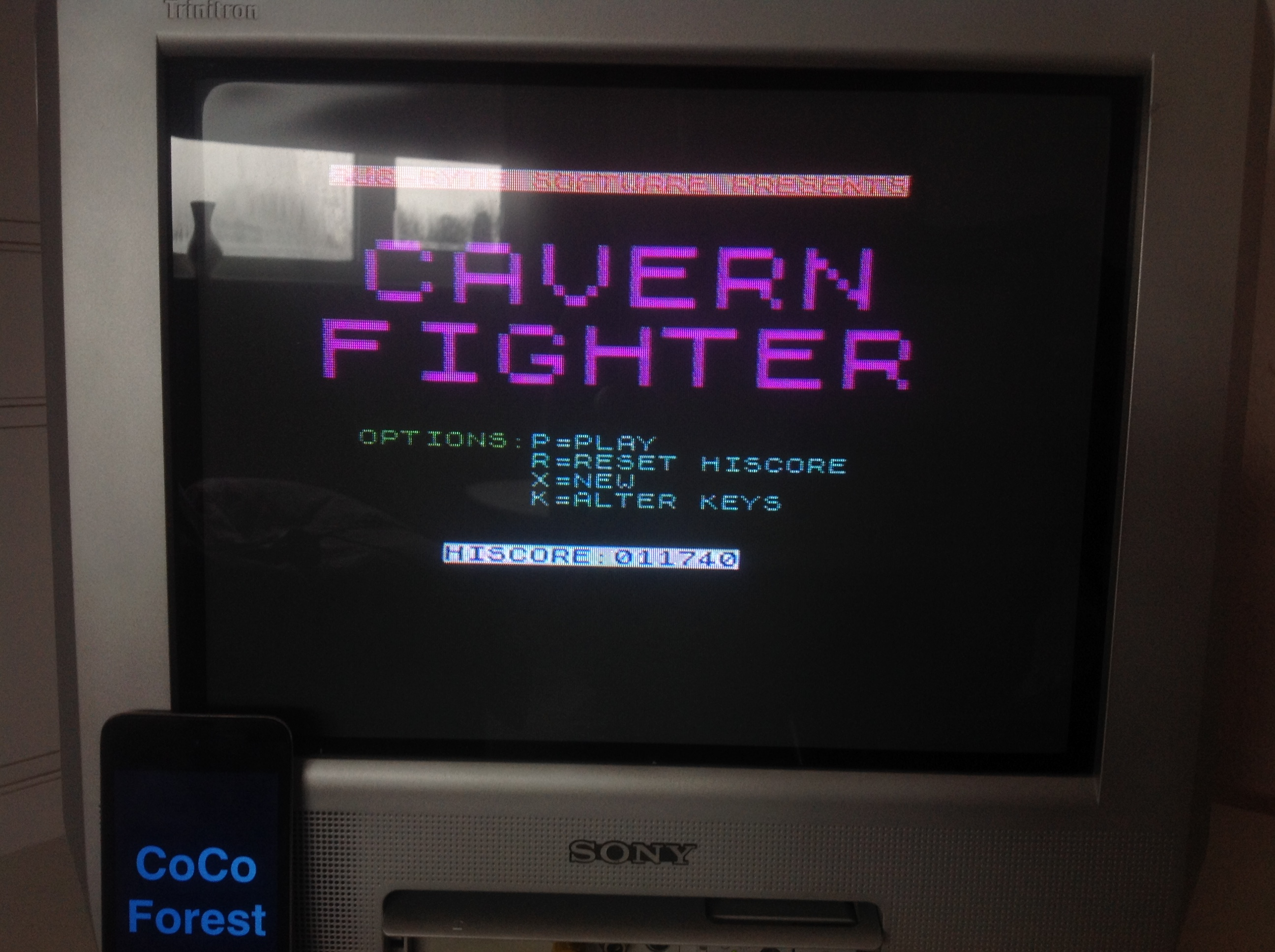 CoCoForest: Cavern Fighter (ZX Spectrum) 11,740 points on 2016-01-17 07:28:18
