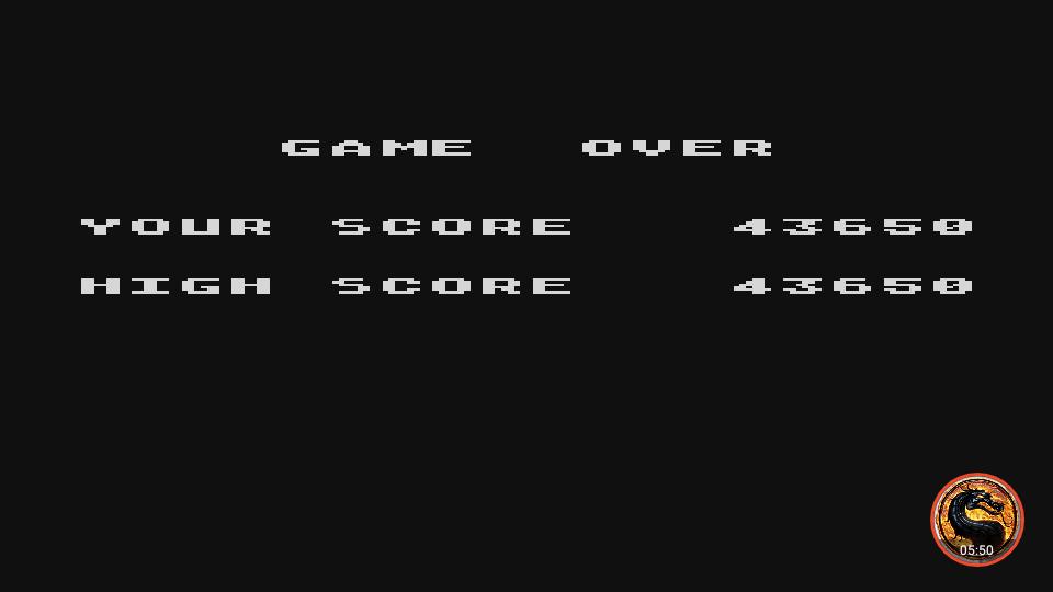 omargeddon: Caverns of Mars (Atari 400/800/XL/XE Emulated) 43,650 points on 2019-02-14 20:29:12