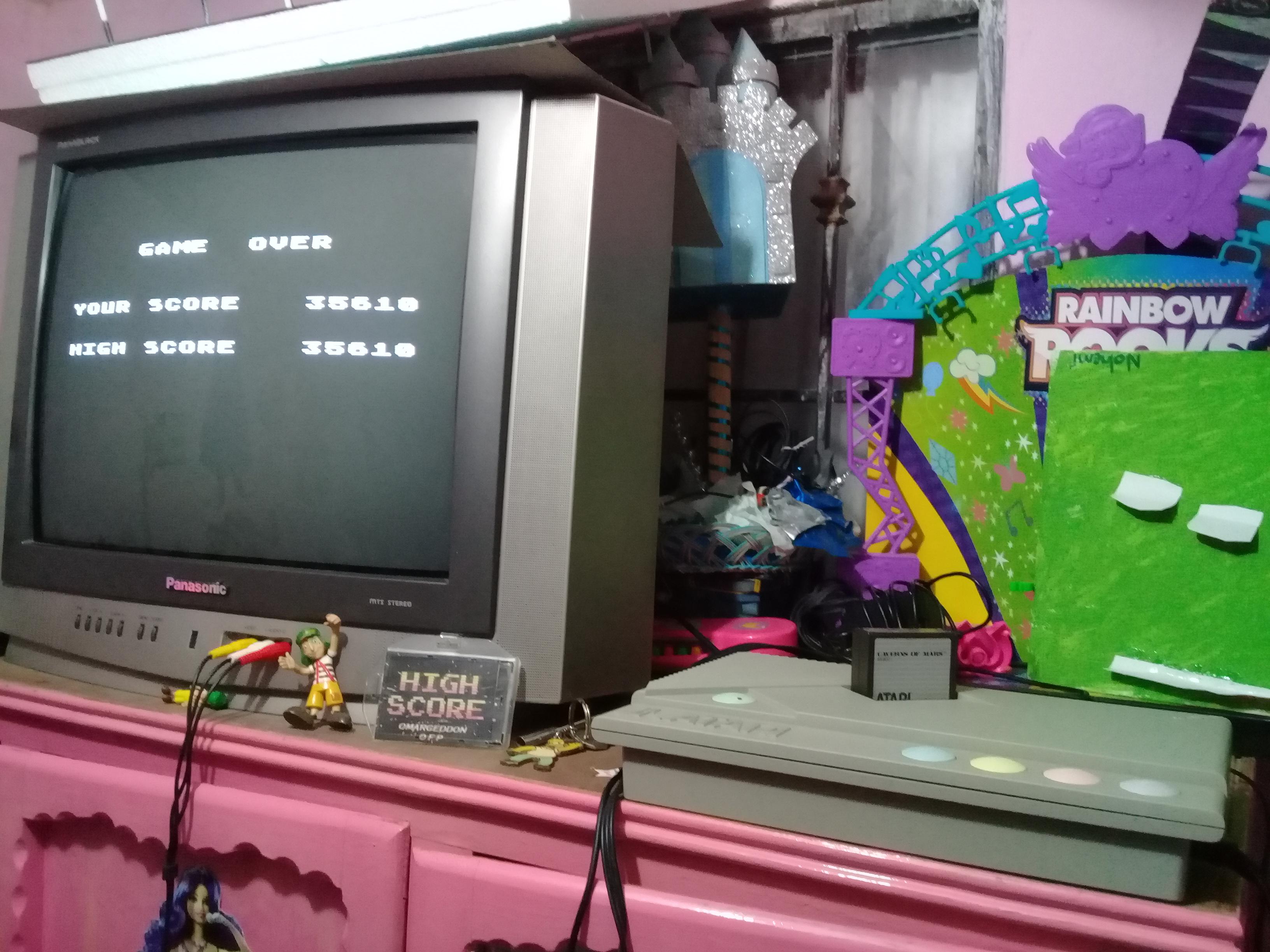 omargeddon: Caverns of Mars [Commander] (Atari 400/800/XL/XE) 35,610 points on 2019-01-08 18:43:21