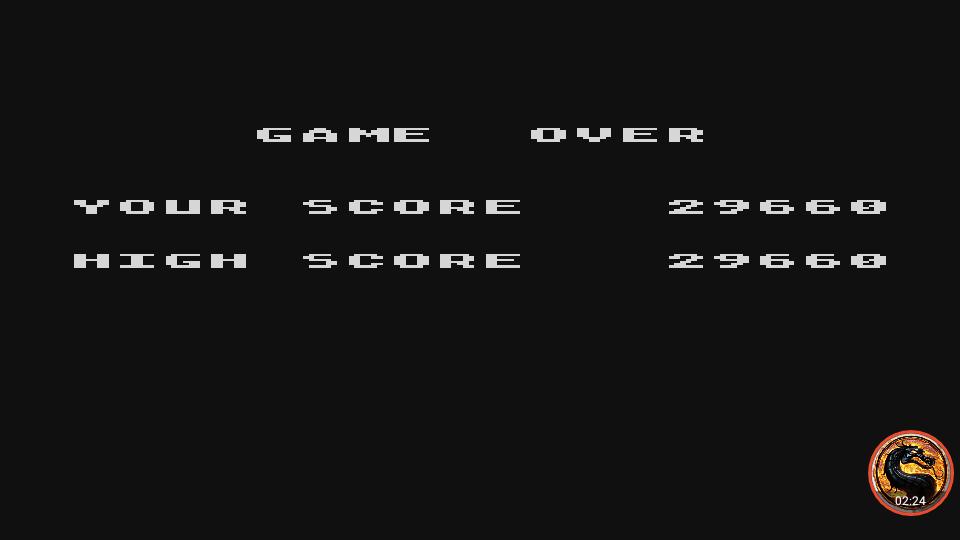 omargeddon: Caverns of Mars [Commander] (Atari 400/800/XL/XE Emulated) 29,660 points on 2019-02-14 20:33:58