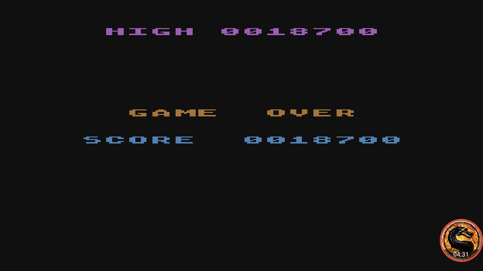 omargeddon: Caverns of Mars II (Atari 400/800/XL/XE Emulated) 18,700 points on 2019-02-20 02:13:25
