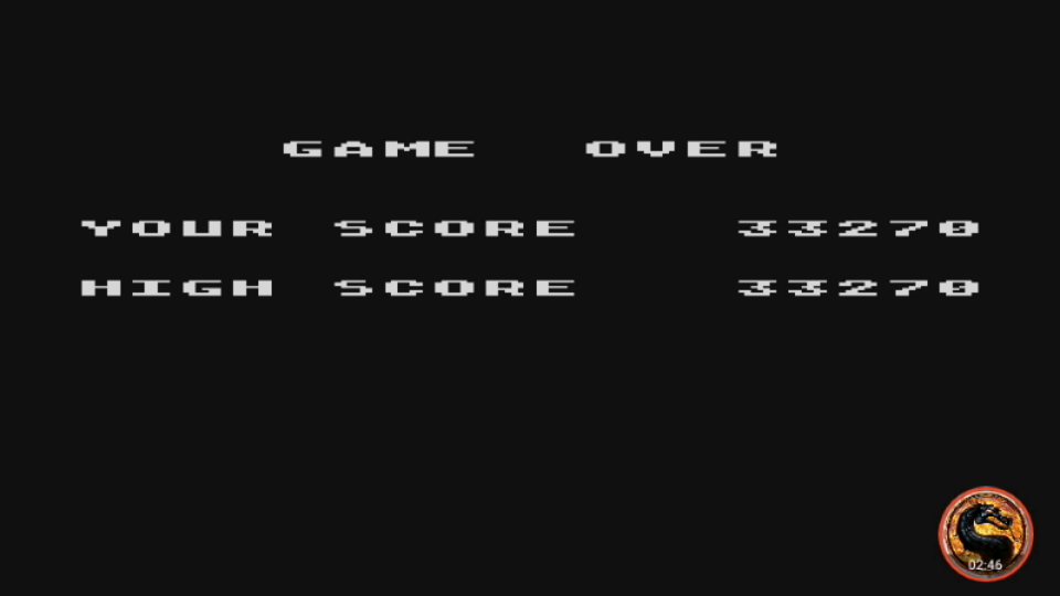omargeddon: Caverns of Mars [Pilot] (Atari 400/800/XL/XE Emulated) 33,270 points on 2019-02-14 20:43:35