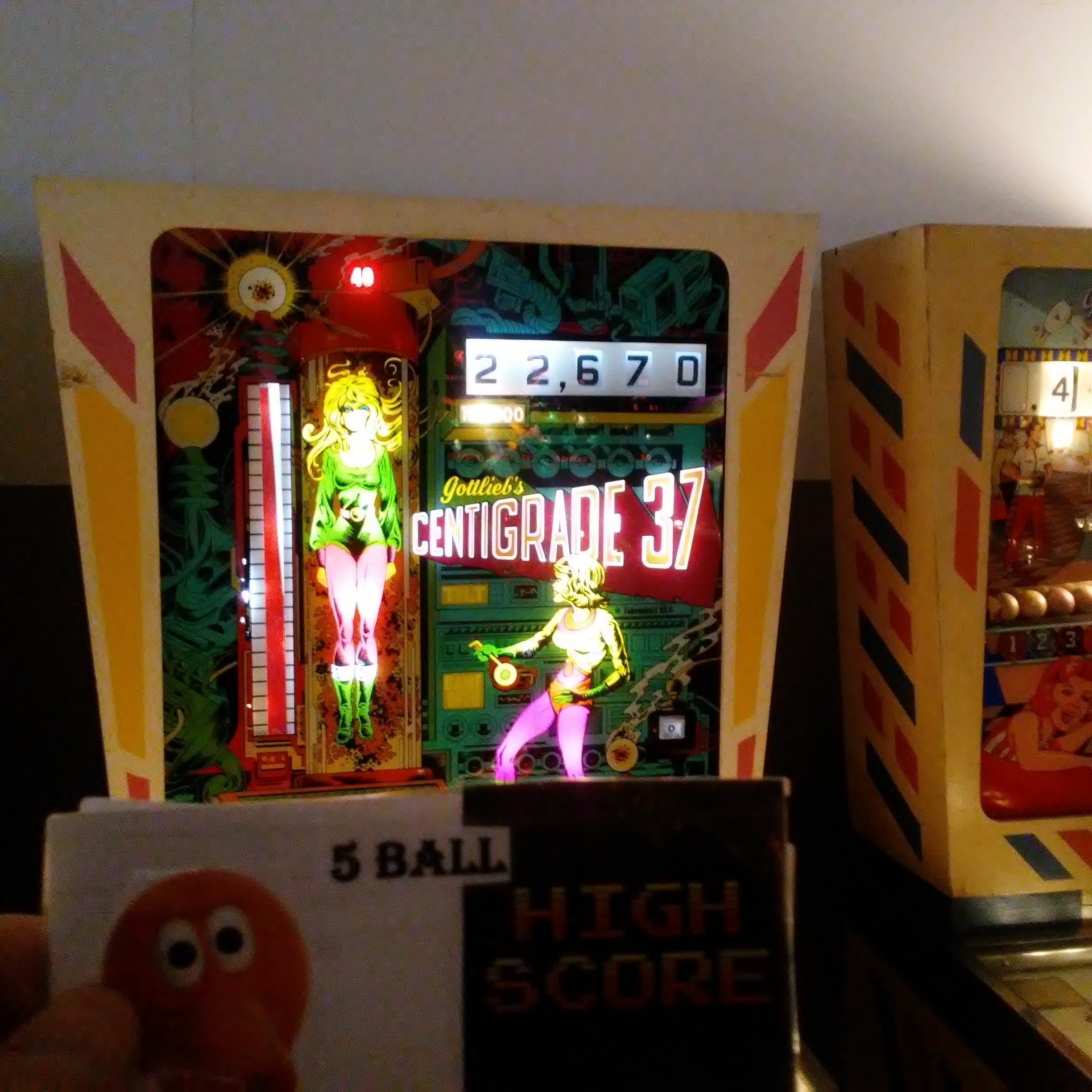 Pjsteele: Centigrade 37 (Pinball: 5 Balls) 122,670 points on 2018-03-03 20:12:12