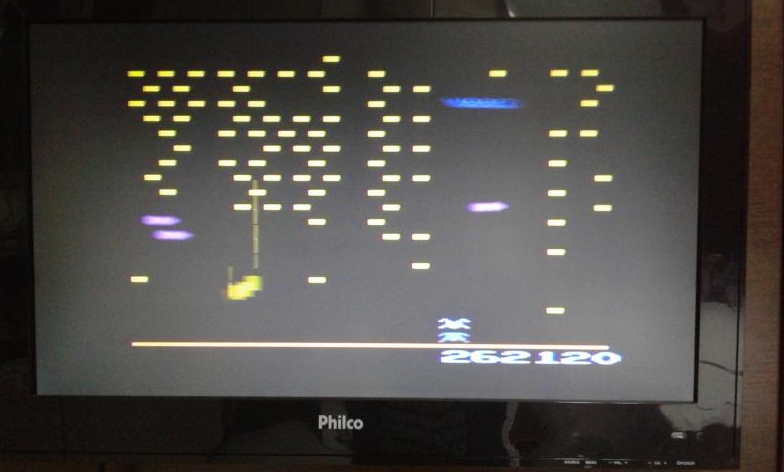 oyamafamily: Centipede (Atari 2600) 262,120 points on 2017-11-03 19:29:00