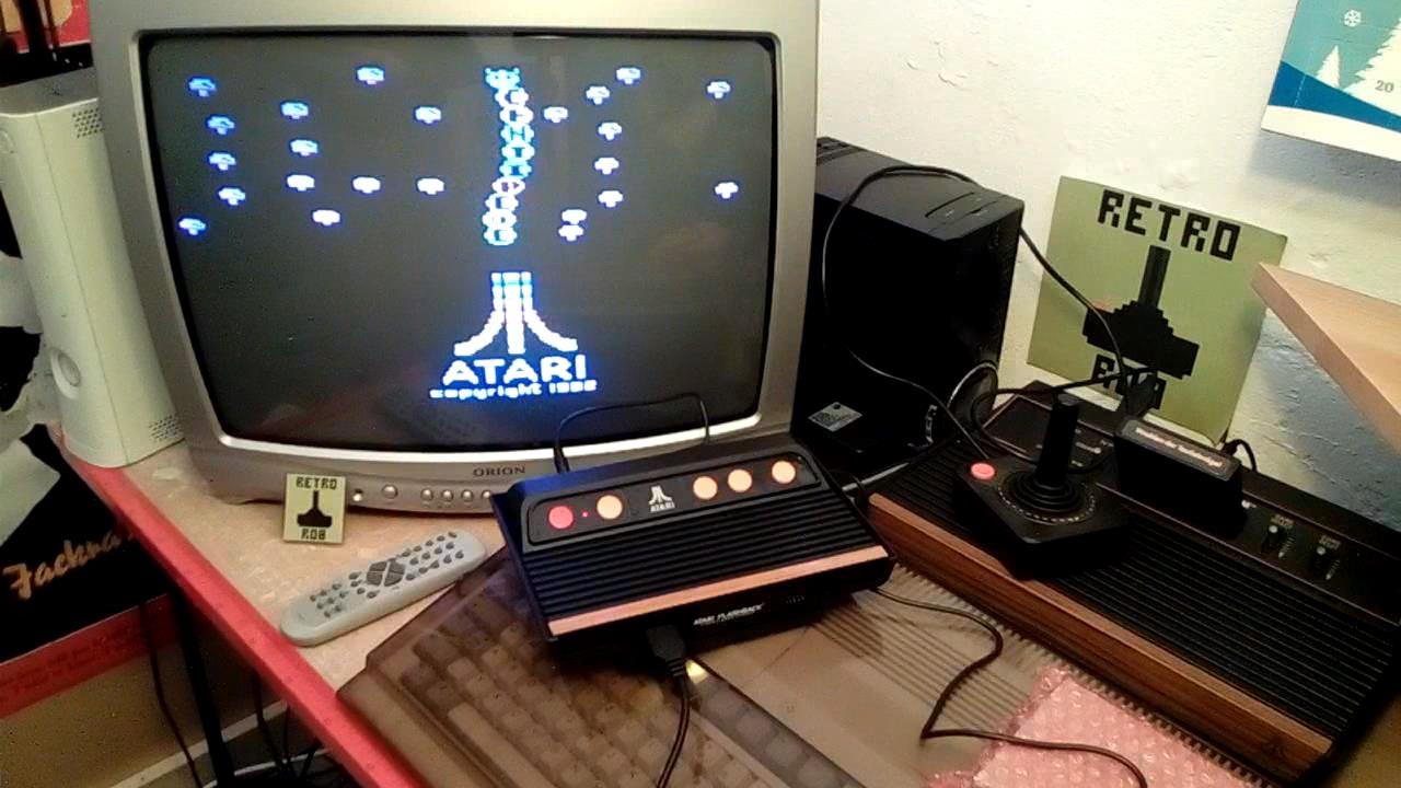 RetroRob: Centipede (Atari 2600 Emulated) 67,414 points on 2019-09-03 14:37:56