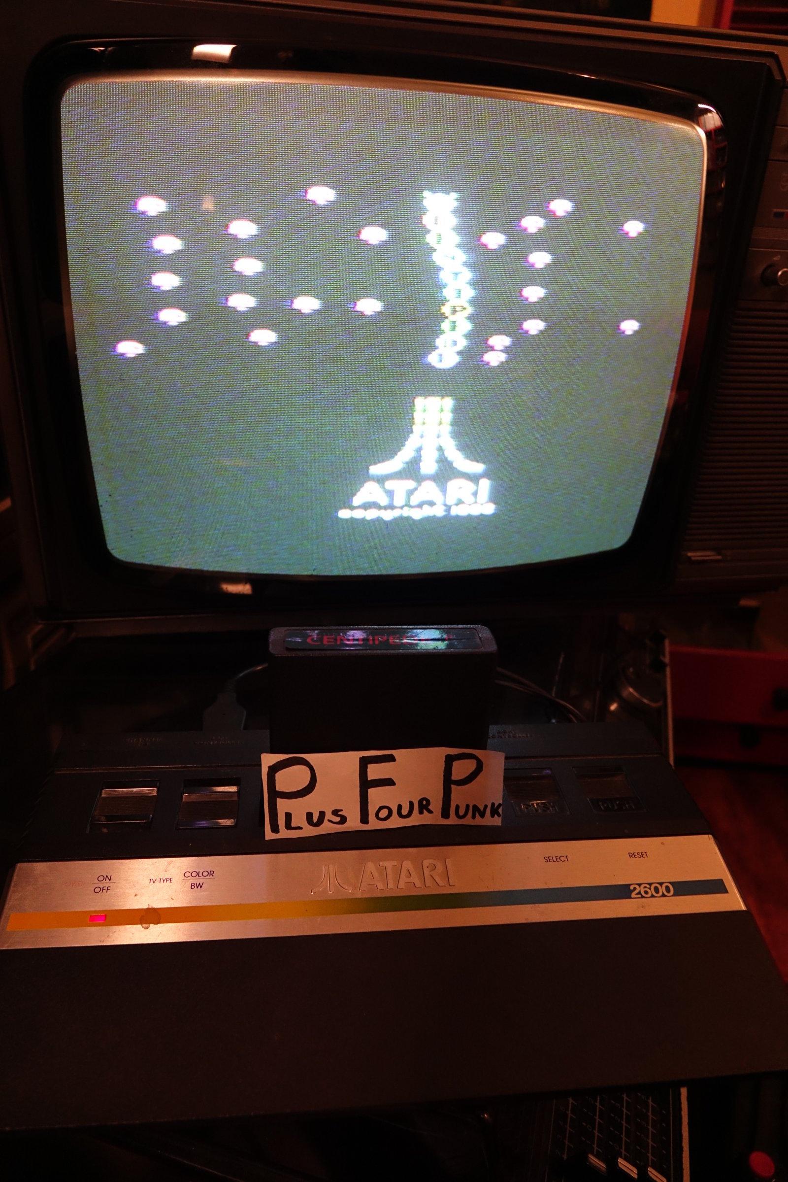 plus4punk: Centipede (Atari 2600) 123,272 points on 2020-03-13 17:10:34
