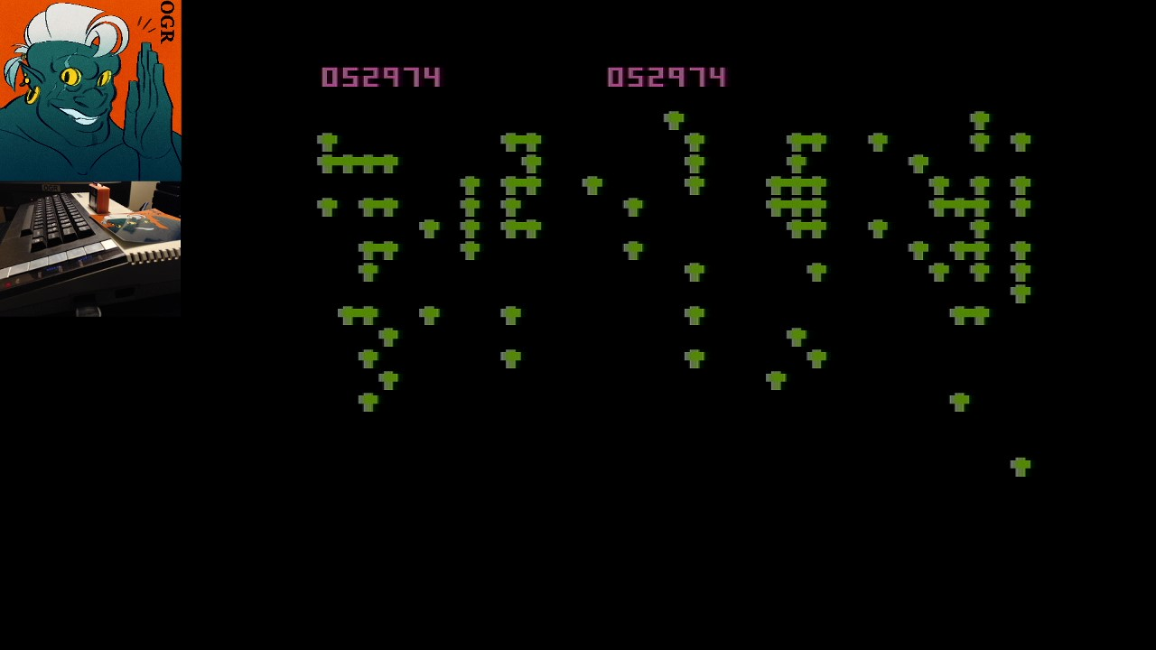 AwesomeOgre: Centipede (Atari 400/800/XL/XE) 52,974 points on 2020-03-16 05:28:38