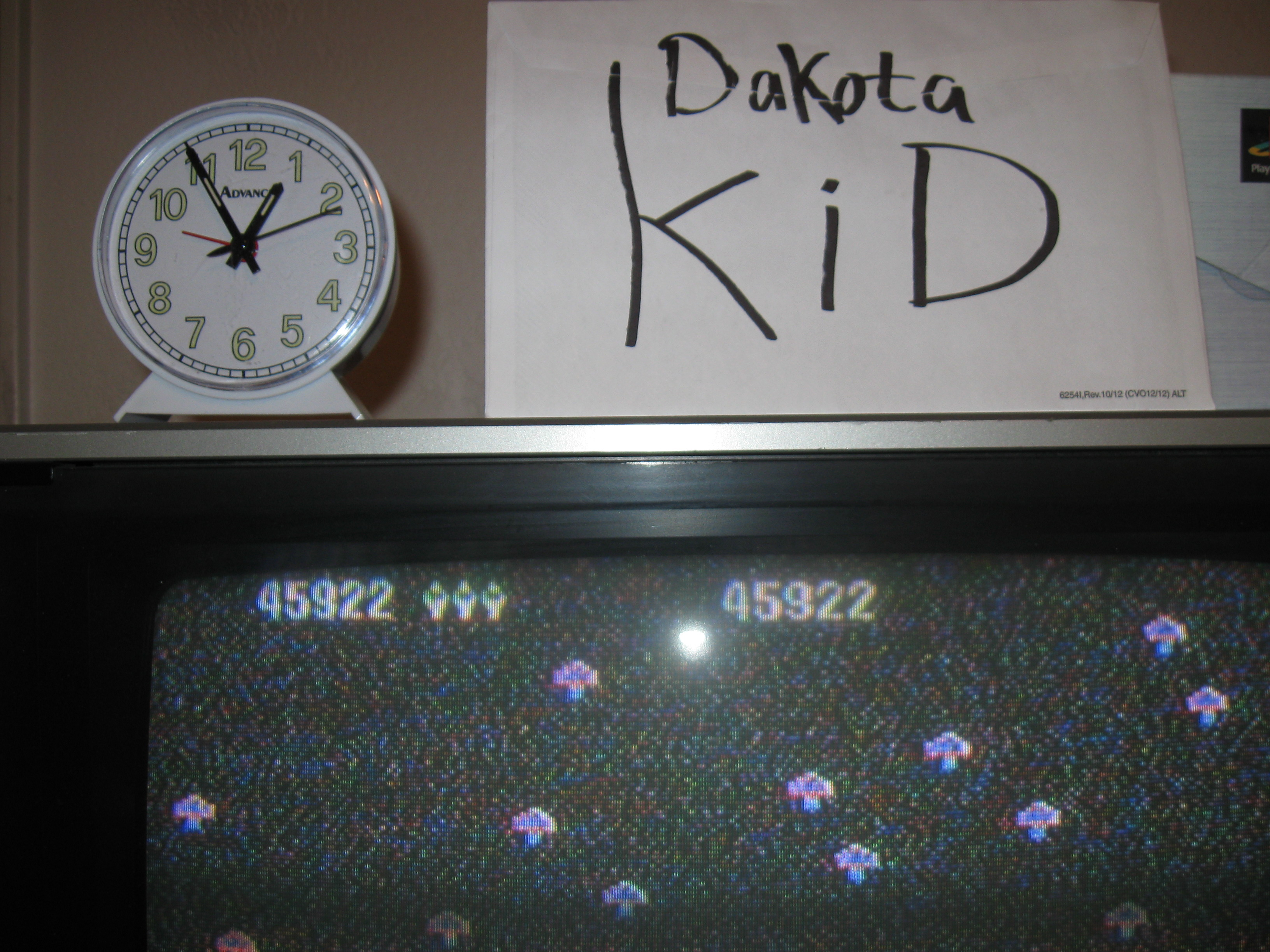 DakotaKid: Centipede: Easy (Atari 5200) 45,922 points on 2016-04-13 19:27:23