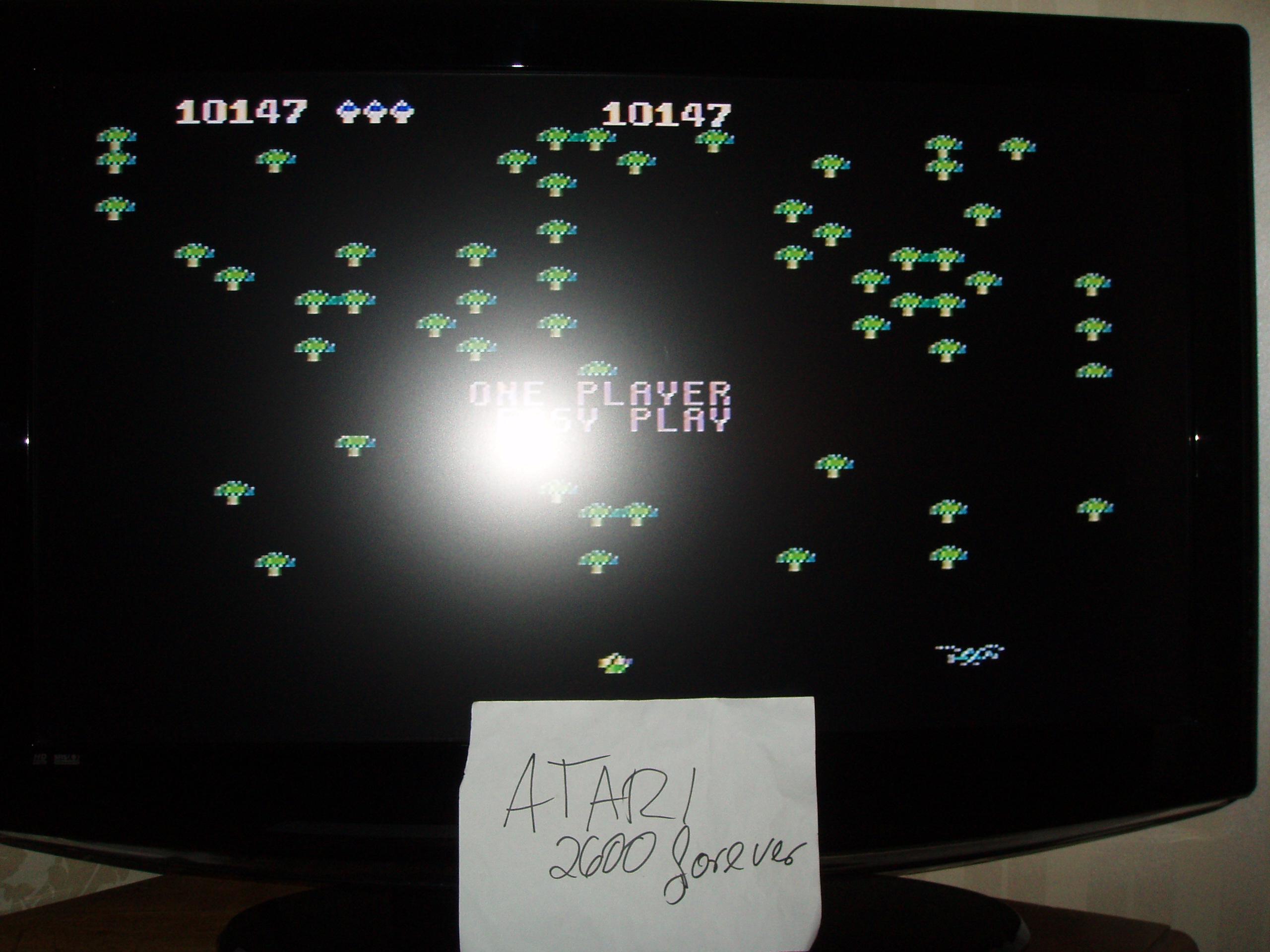 atari2600forever: Centipede: Easy (Atari 5200) 10,147 points on 2018-12-18 03:27:53