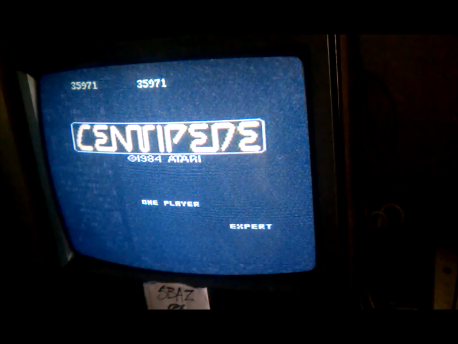S.BAZ: Centipede: Expert (Atari 7800) 35,971 points on 2016-02-10 01:13:12