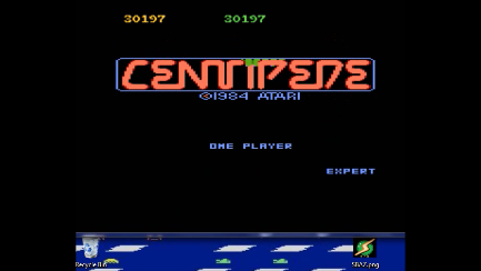 S.BAZ: Centipede: Expert (Atari 7800 Emulated) 30,197 points on 2018-11-30 14:57:40