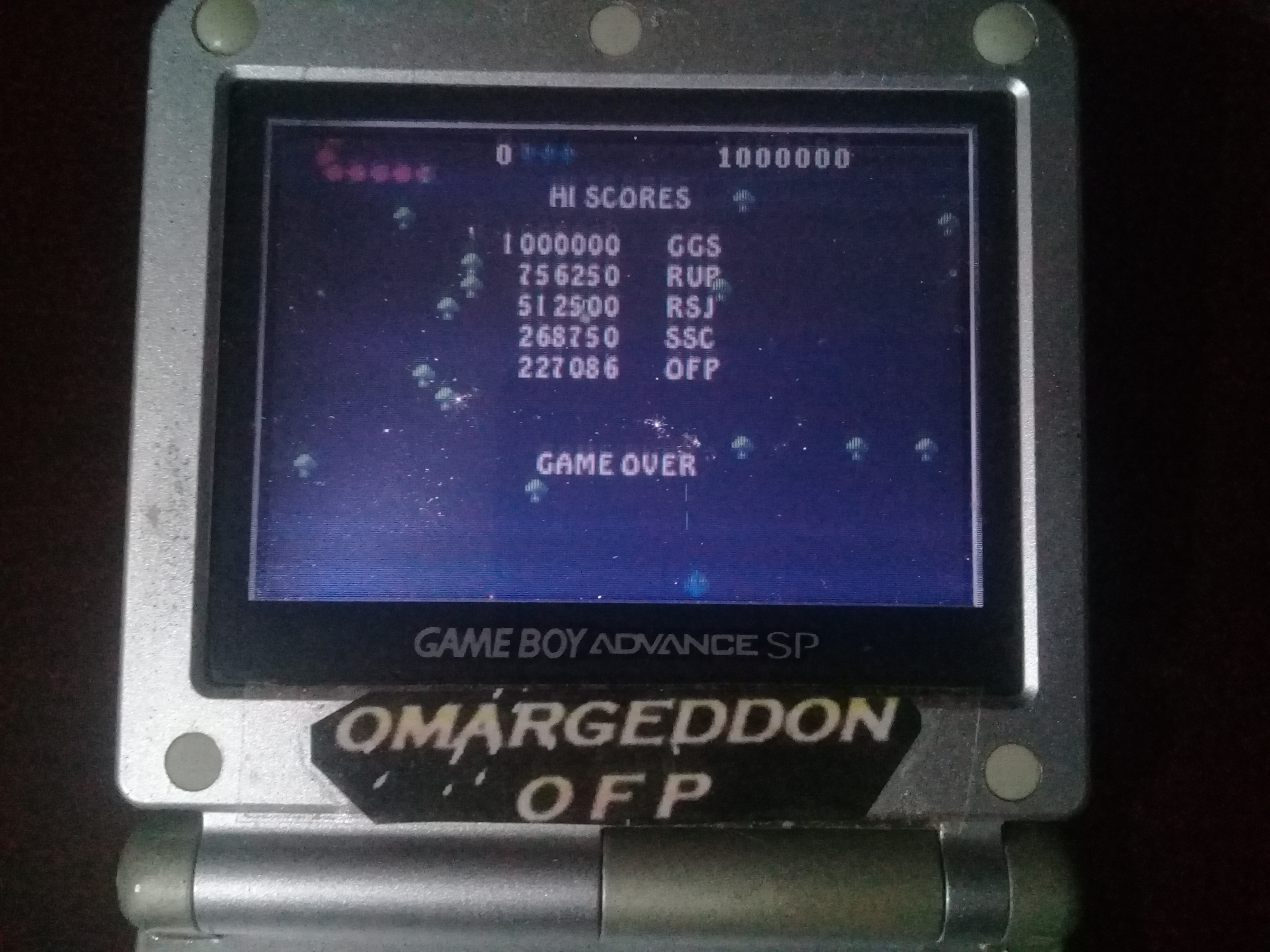 omargeddon: Centipede [Expert] (GBA) 227,086 points on 2020-04-19 00:58:19