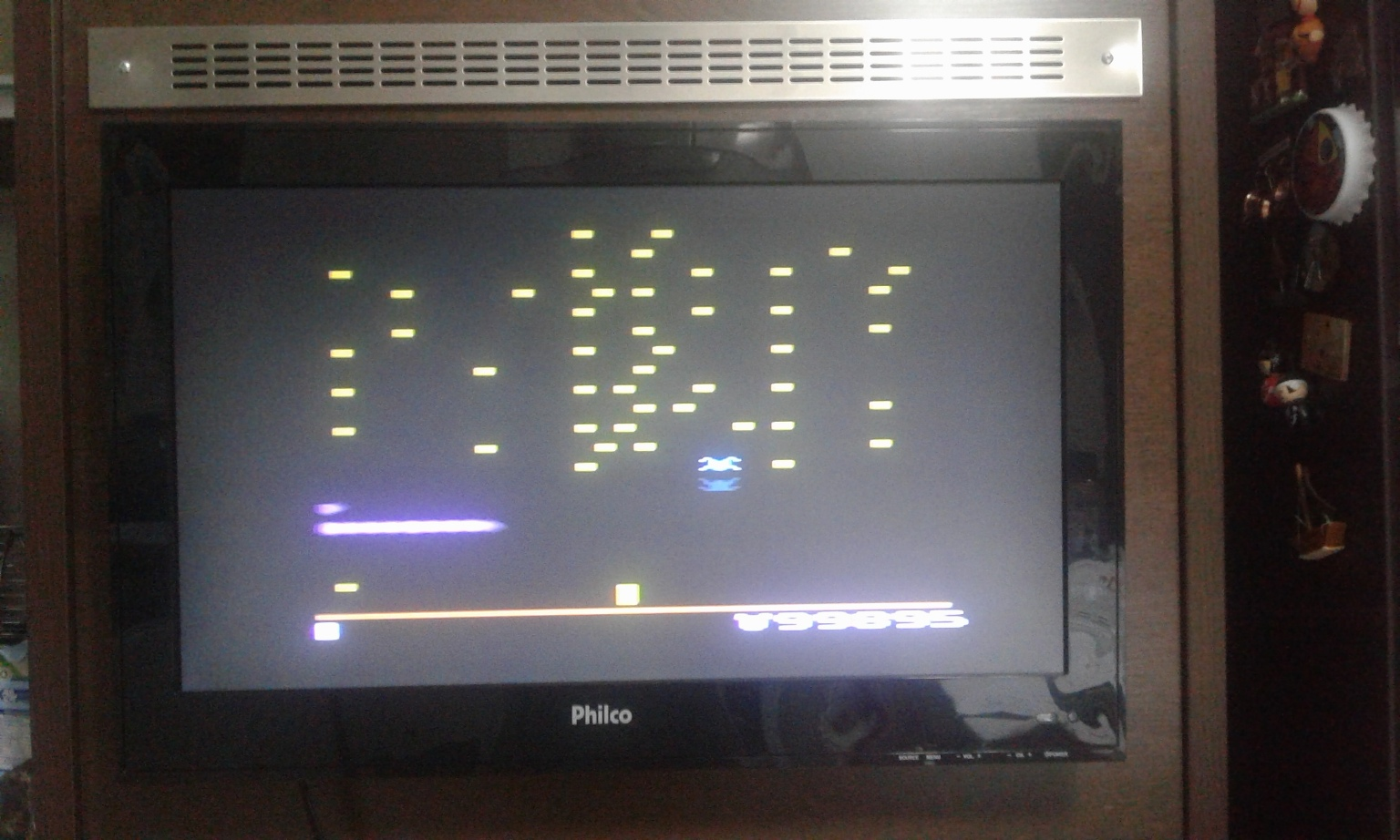 oyamafamily: Centipede: Game 2 (Atari 2600) 99,895 points on 2017-02-25 10:00:48