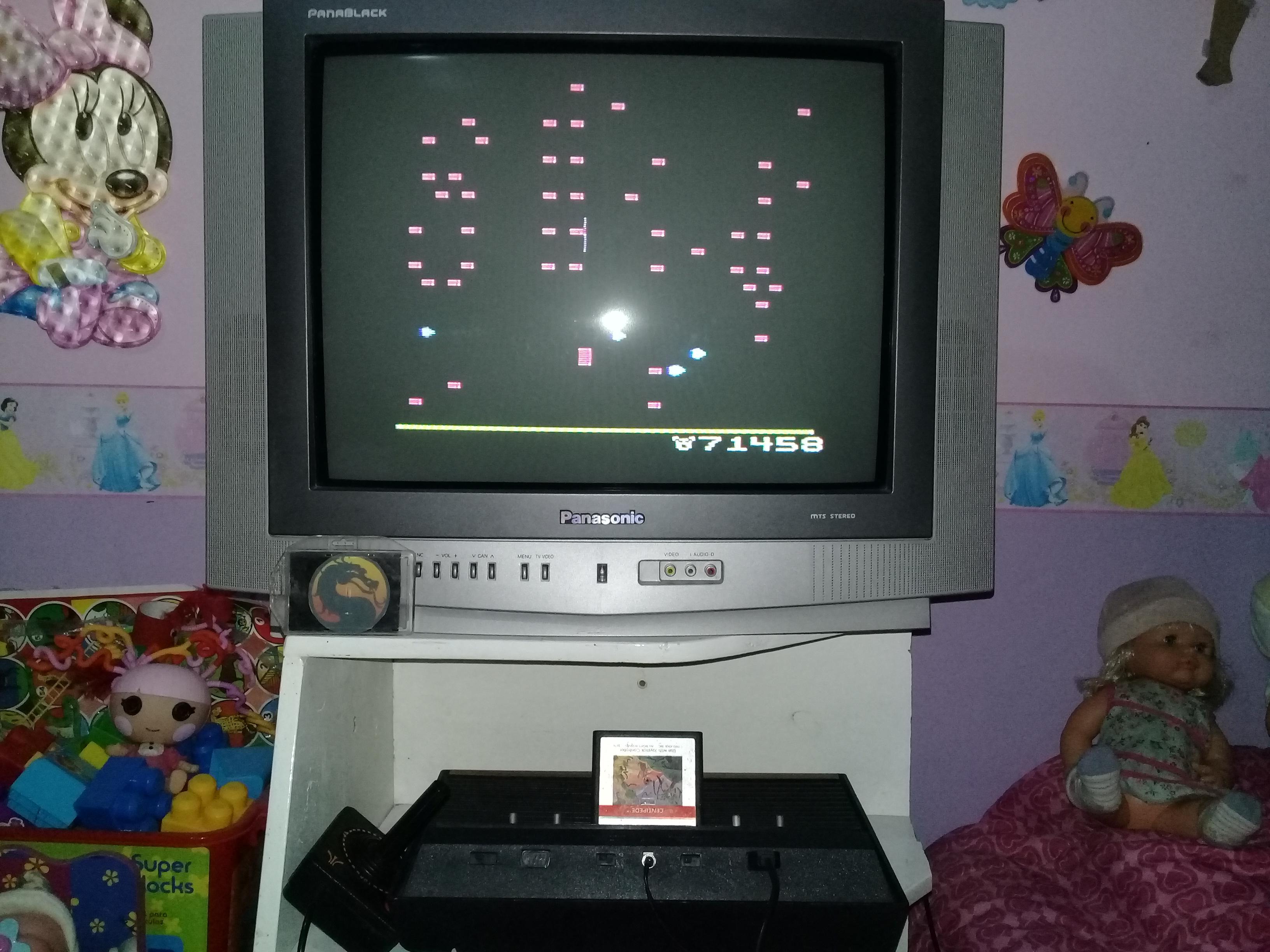 omargeddon: Centipede: Game 2 (Atari 2600) 271,458 points on 2019-08-31 19:51:38