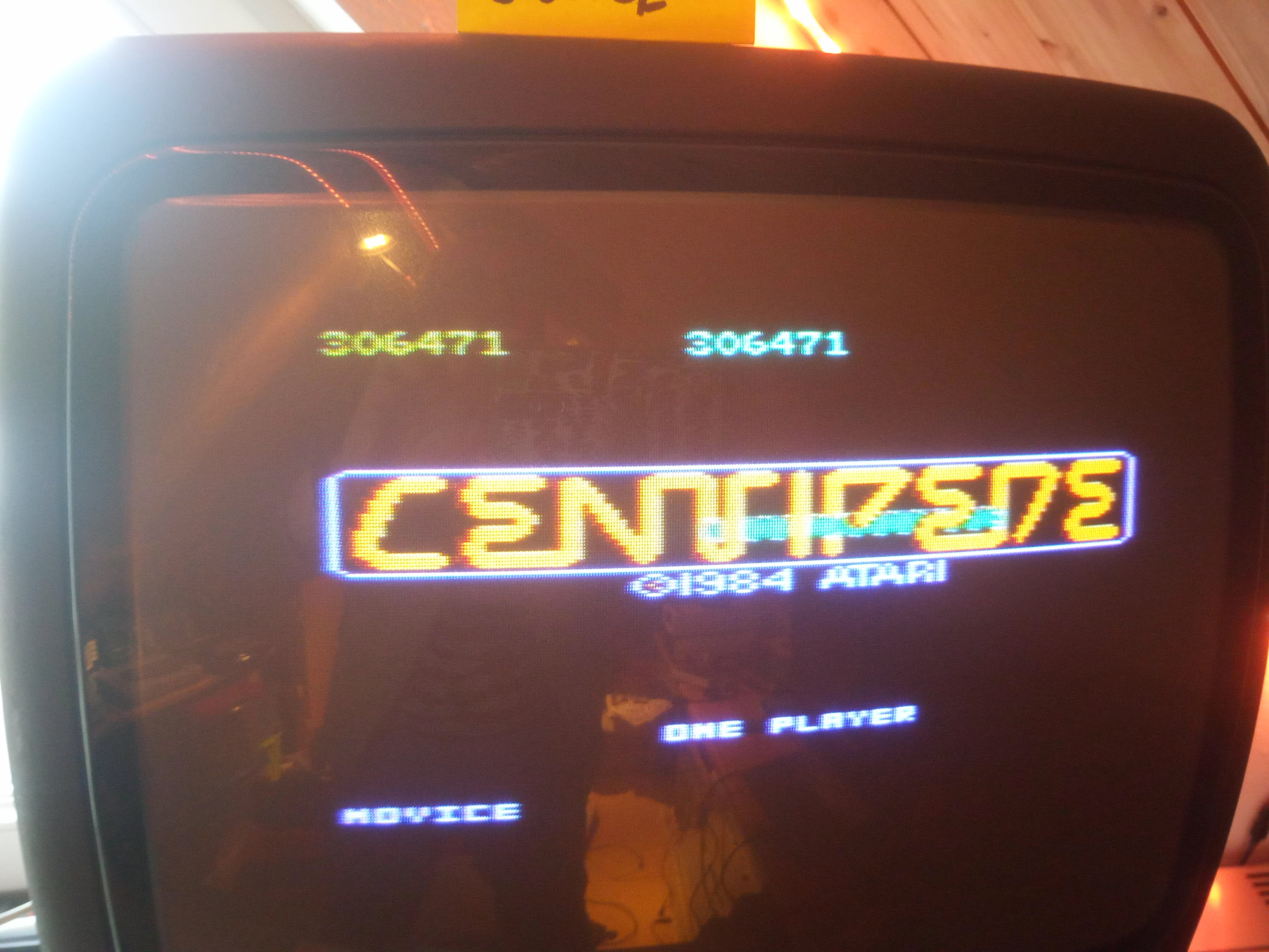 Centipede: Novice 306,471 points