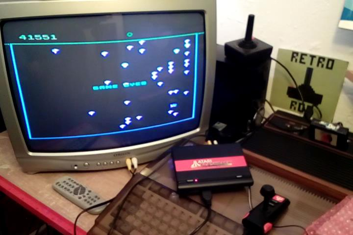 RetroRob: Centipede: Novice (Atari Flashback 1) 41,551 points on 2020-03-03 10:37:28