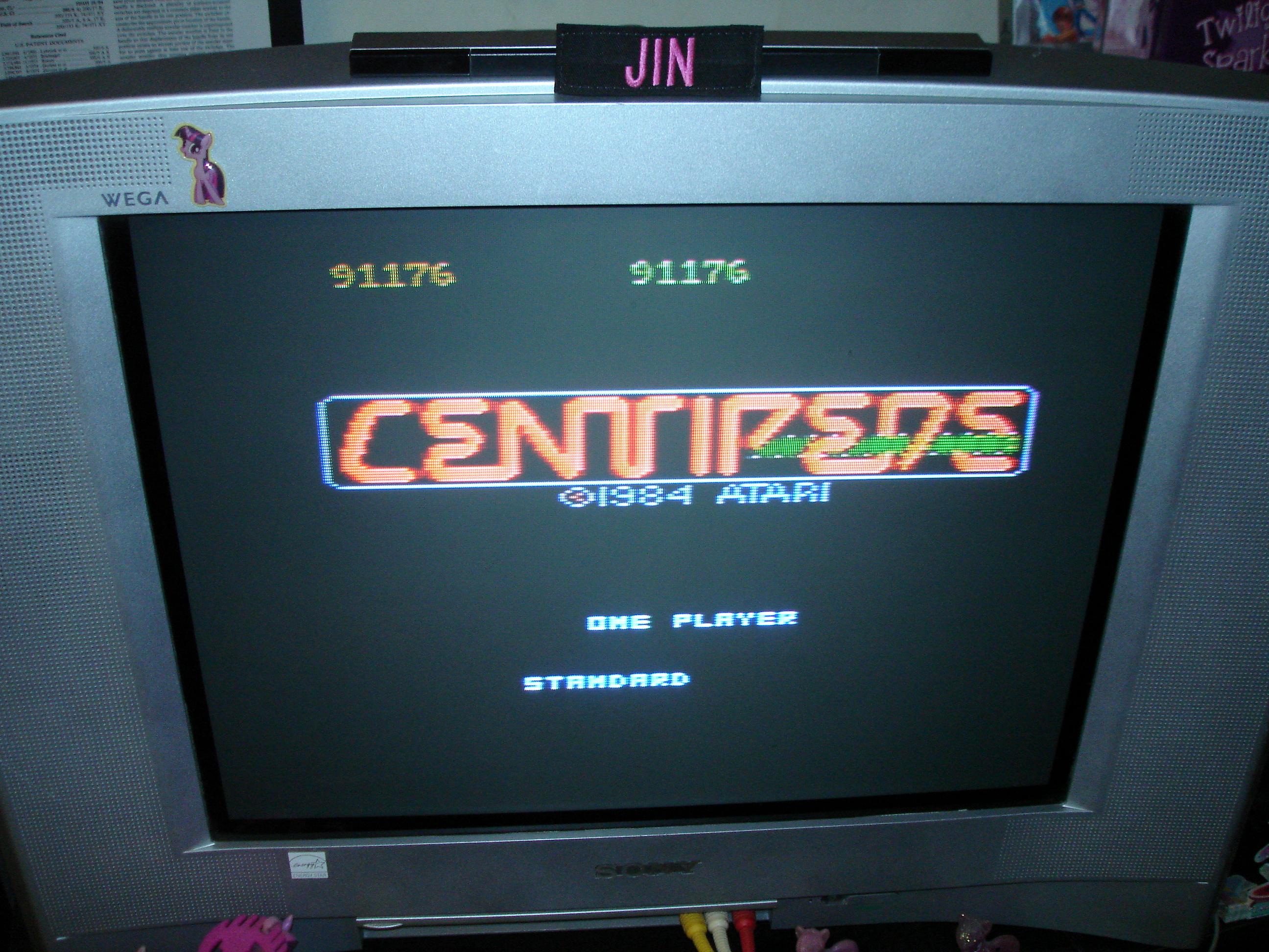 Centipede: Standard 91,176 points