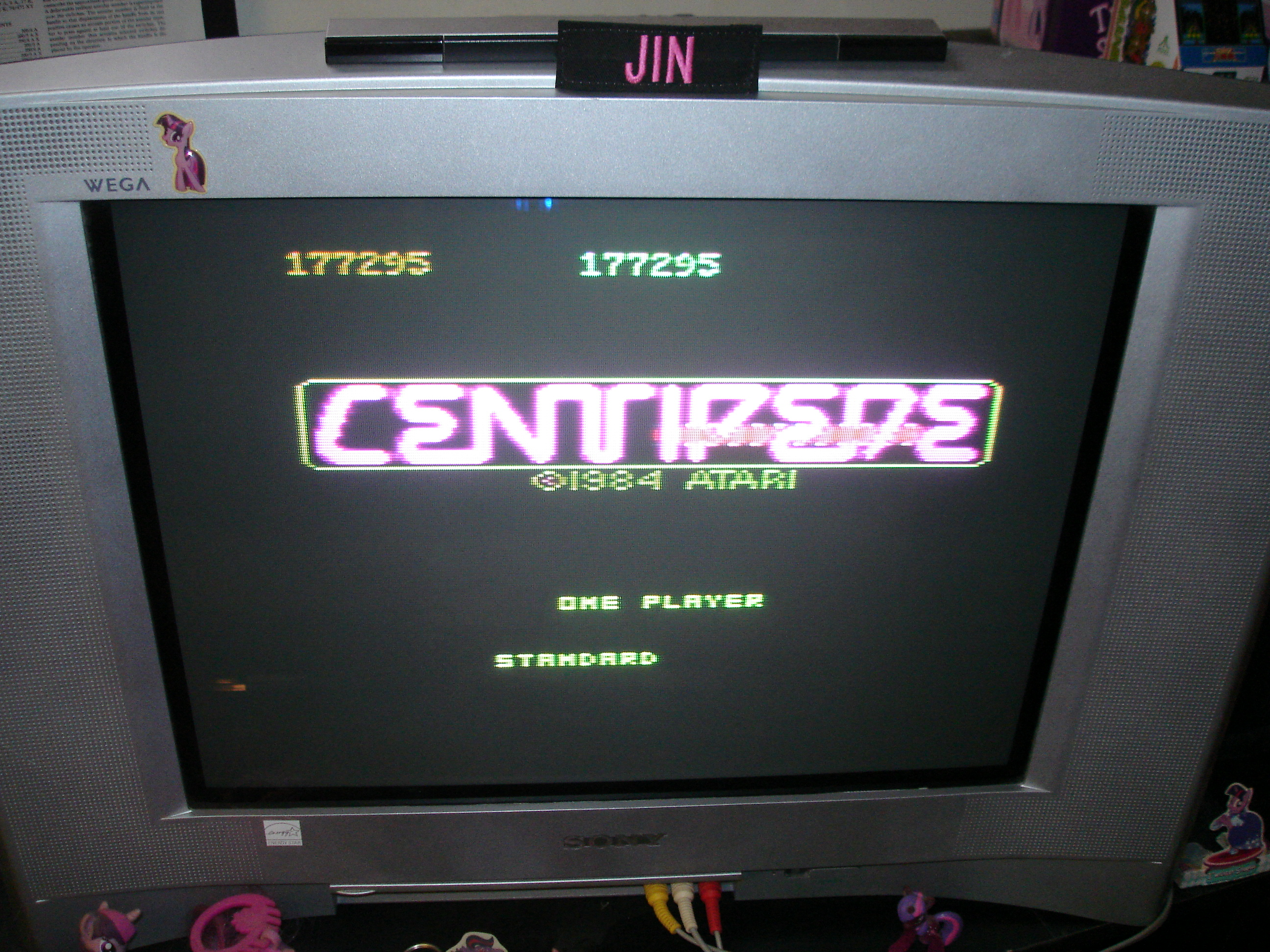 Centipede: Standard 177,295 points