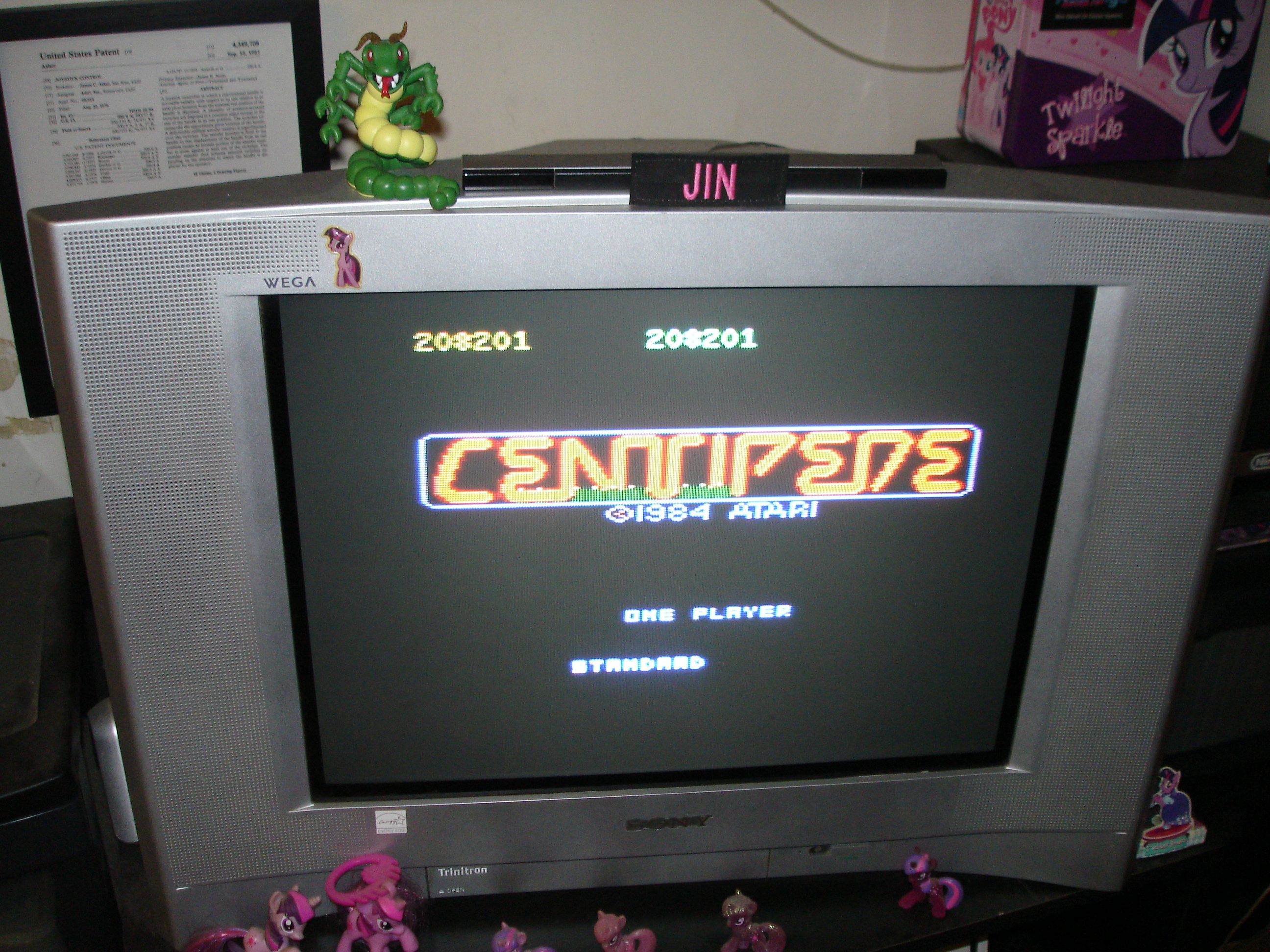 Centipede: Standard 208,201 points