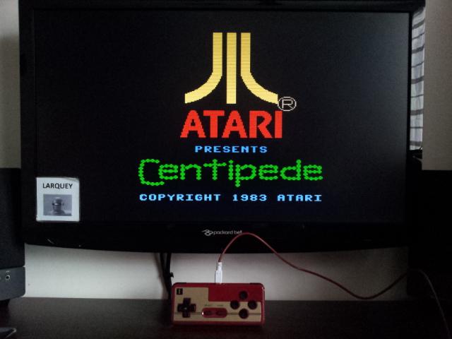 Centipede: Standard 21,587 points