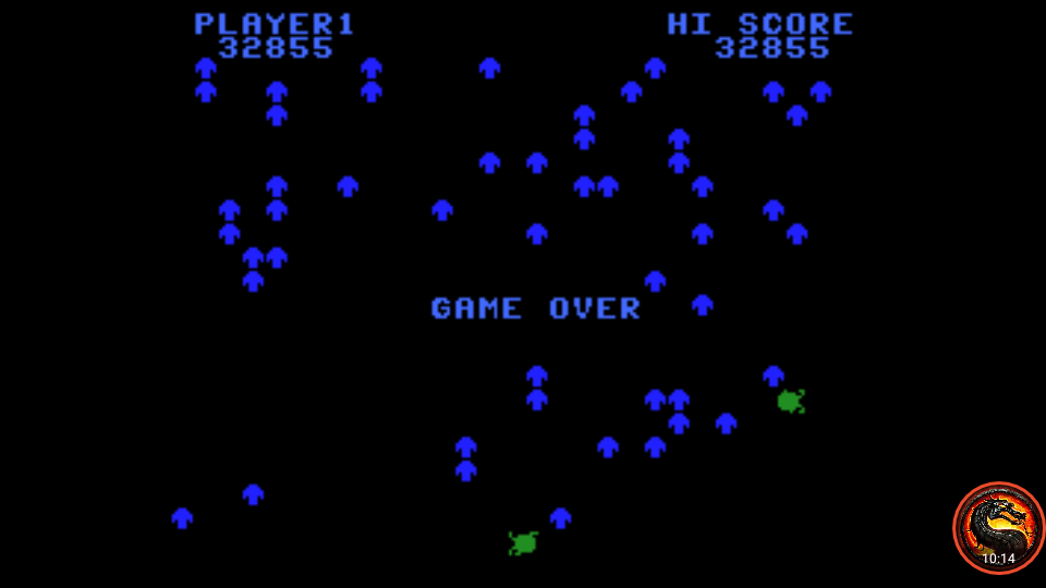 omargeddon: Centipede: Standard (Colecovision Emulated) 32,855 points on 2020-06-28 20:09:37
