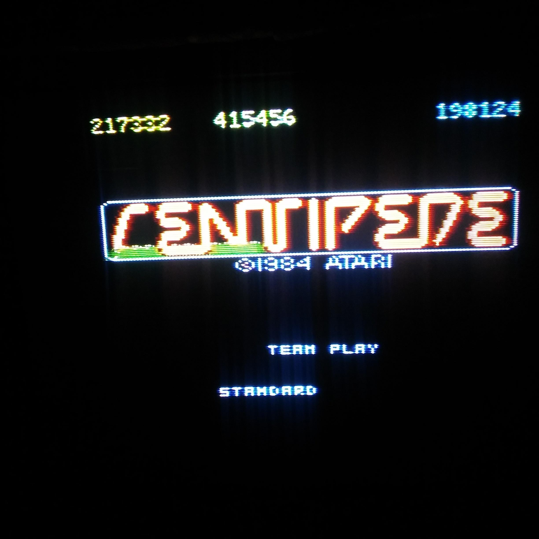 Centipede [Standard] [Team Play] 415,456 points