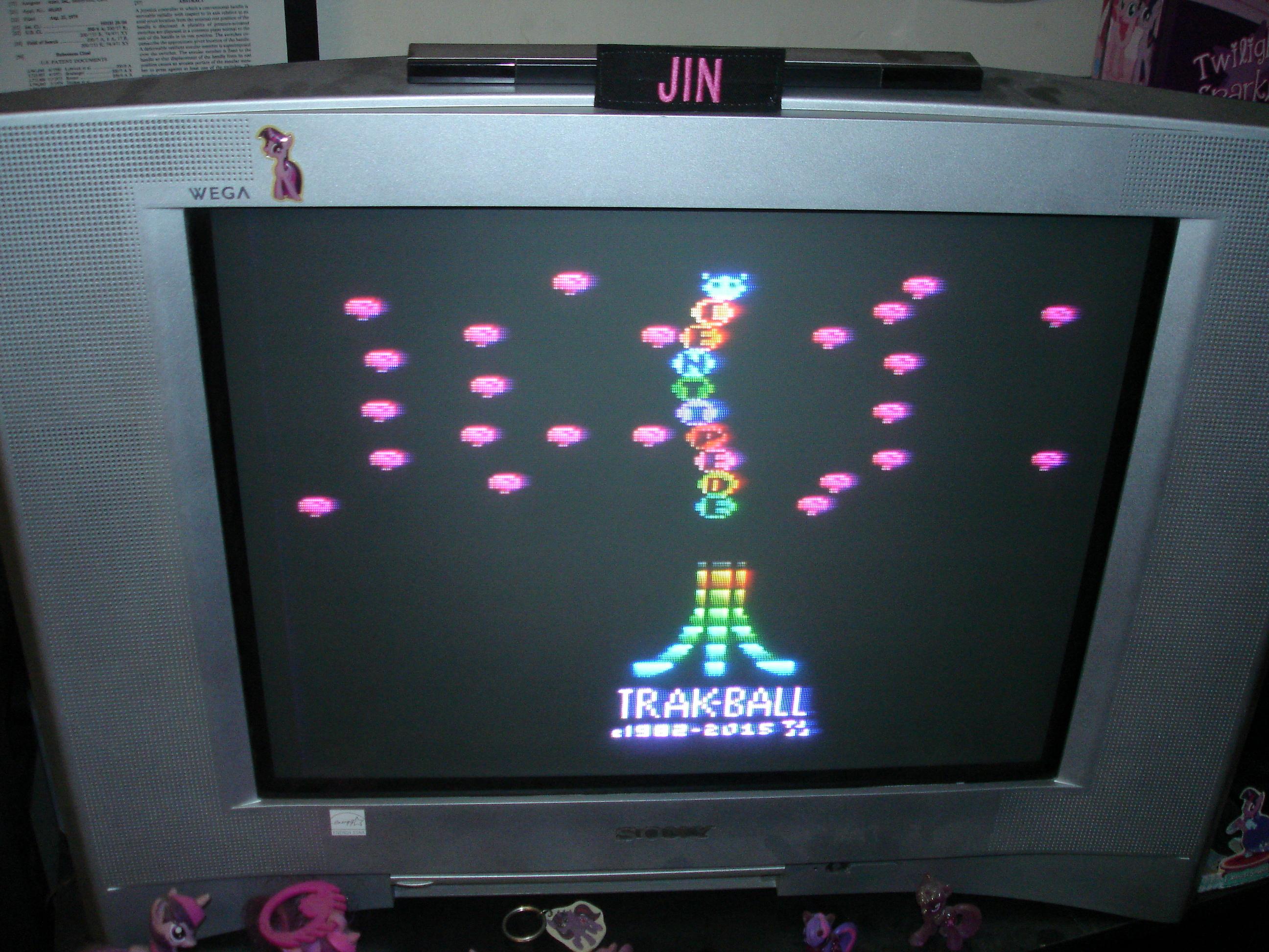 Jin: Centipede TB (Atari 2600) 500,774 points on 2017-03-30 12:36:32