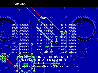 BarryBloso: Cerberus [cerberus] (Arcade Emulated / M.A.M.E.) 30,500 points on 2015-06-19 07:02:26