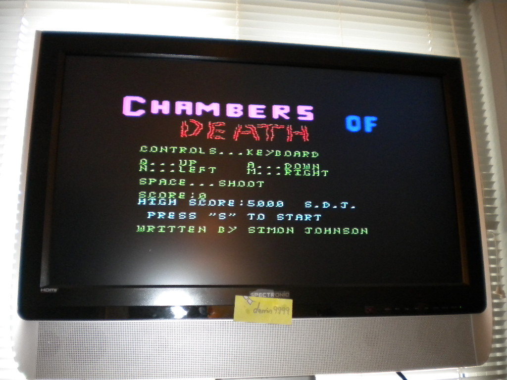 Chambers of Death 2,585 points